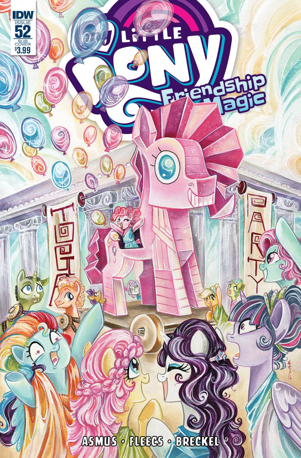 MY LITTLE PONY FRIENDSHIP IS MAGIC #51 SUBSCRIPTION VAR