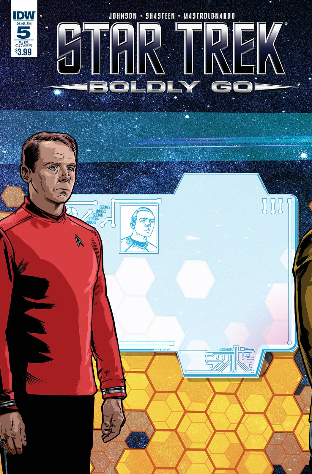 STAR TREK BOLDLY GO #5 SUBSCRIPTION VAR