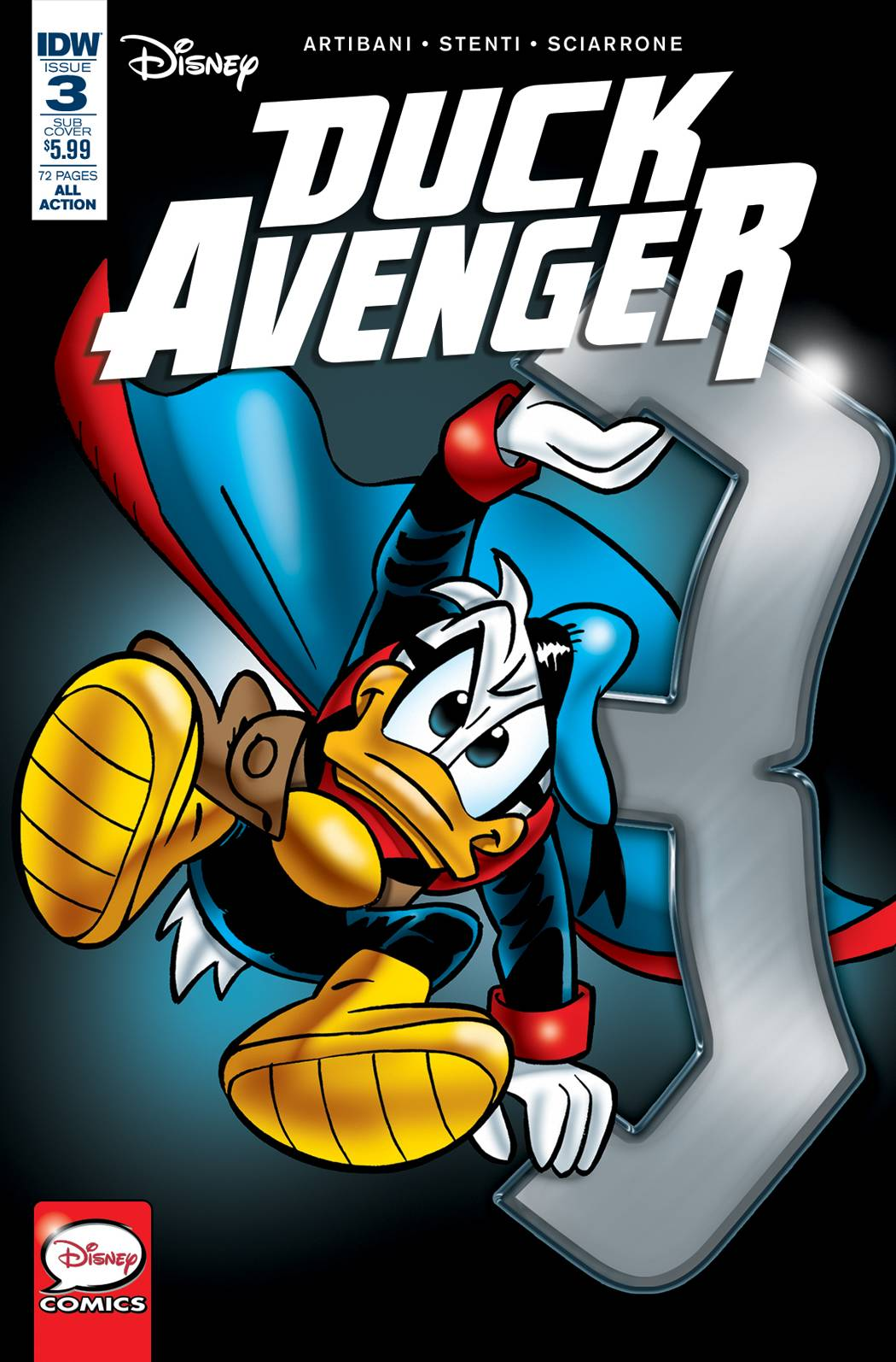 DUCK AVENGER #3 SUBSCRIPTION VAR