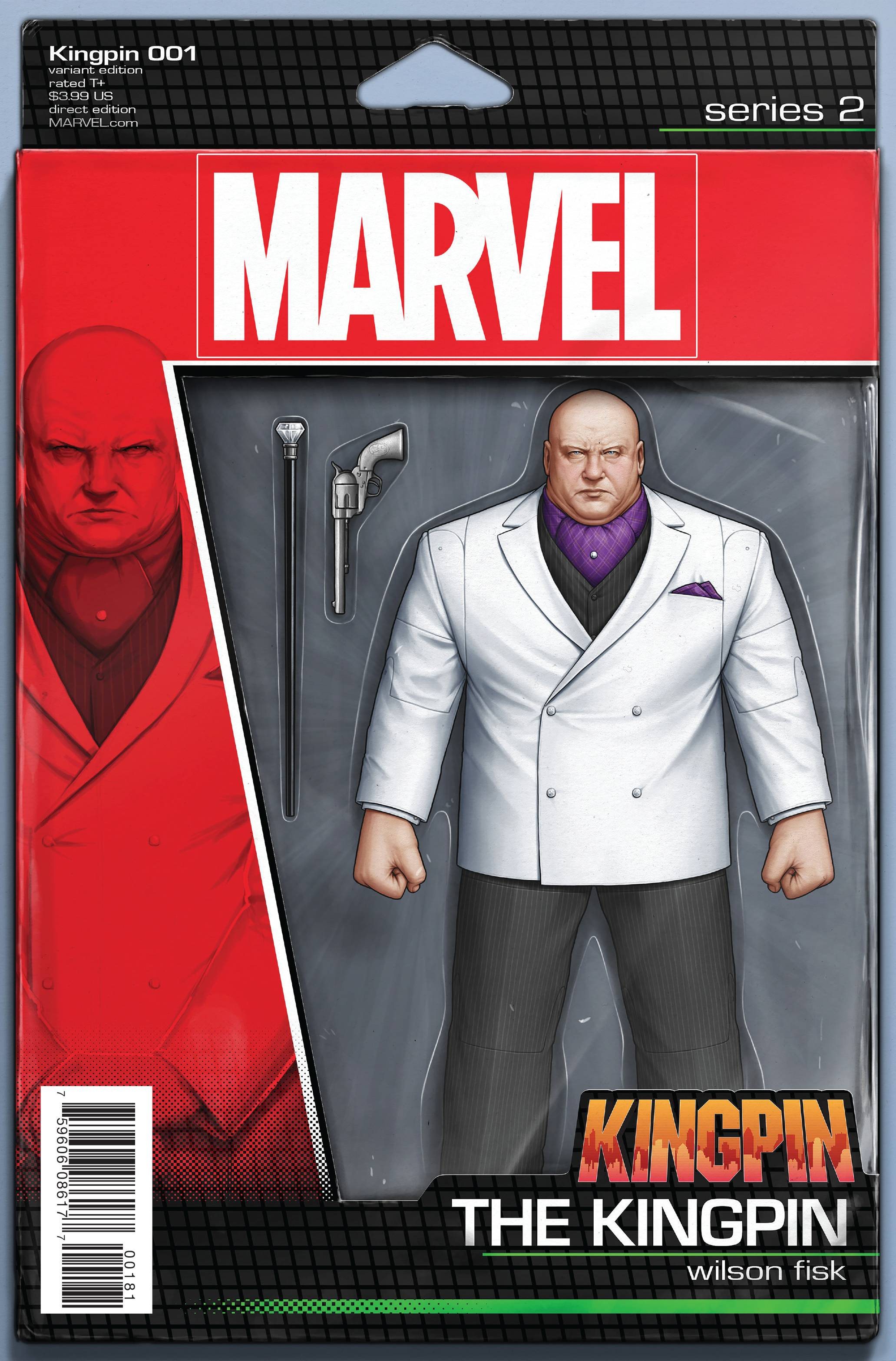 KINGPIN #1 CHRISTOPHER ACTION FIGURE VAR