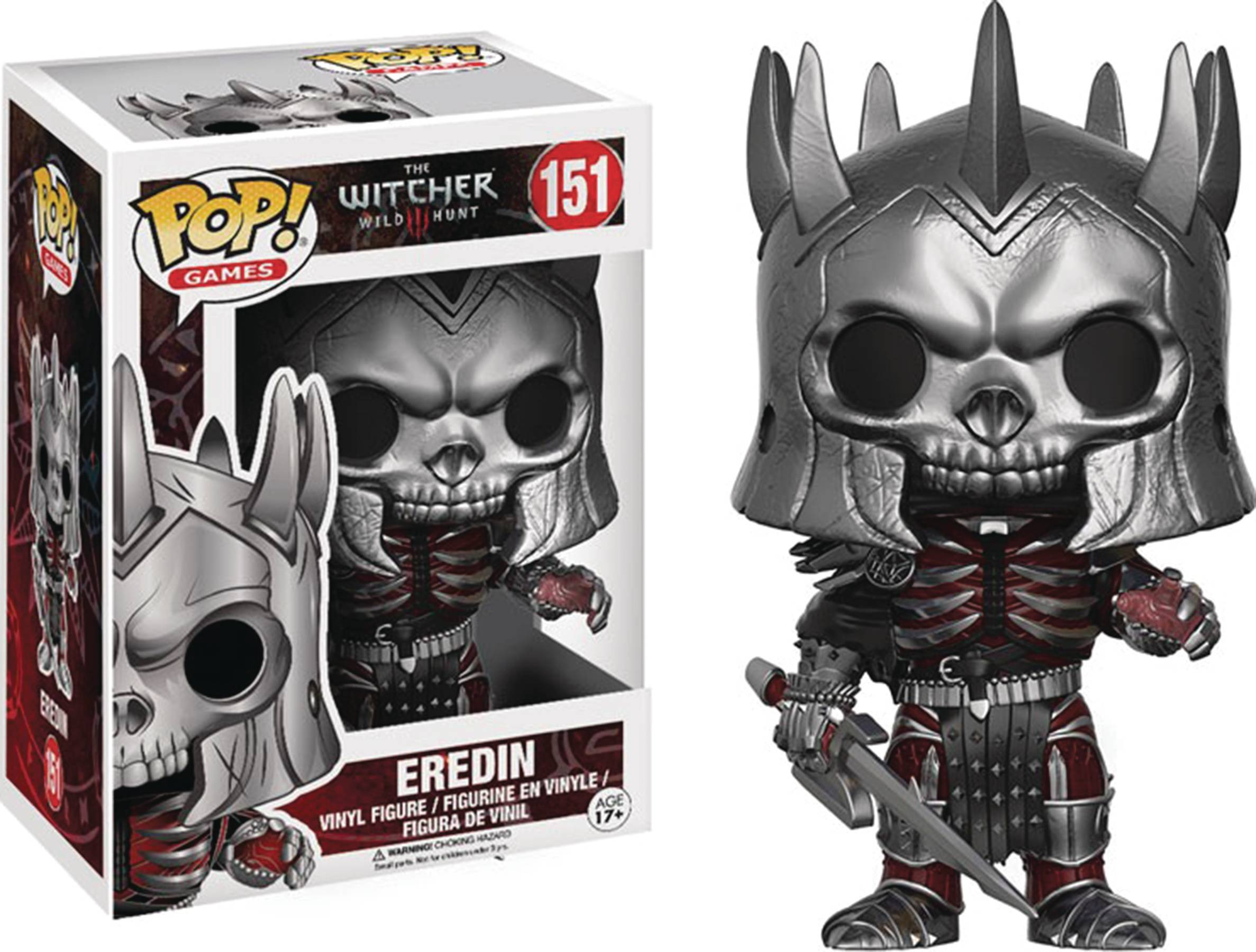 POP WITCHER EREDIN VINYL FIG