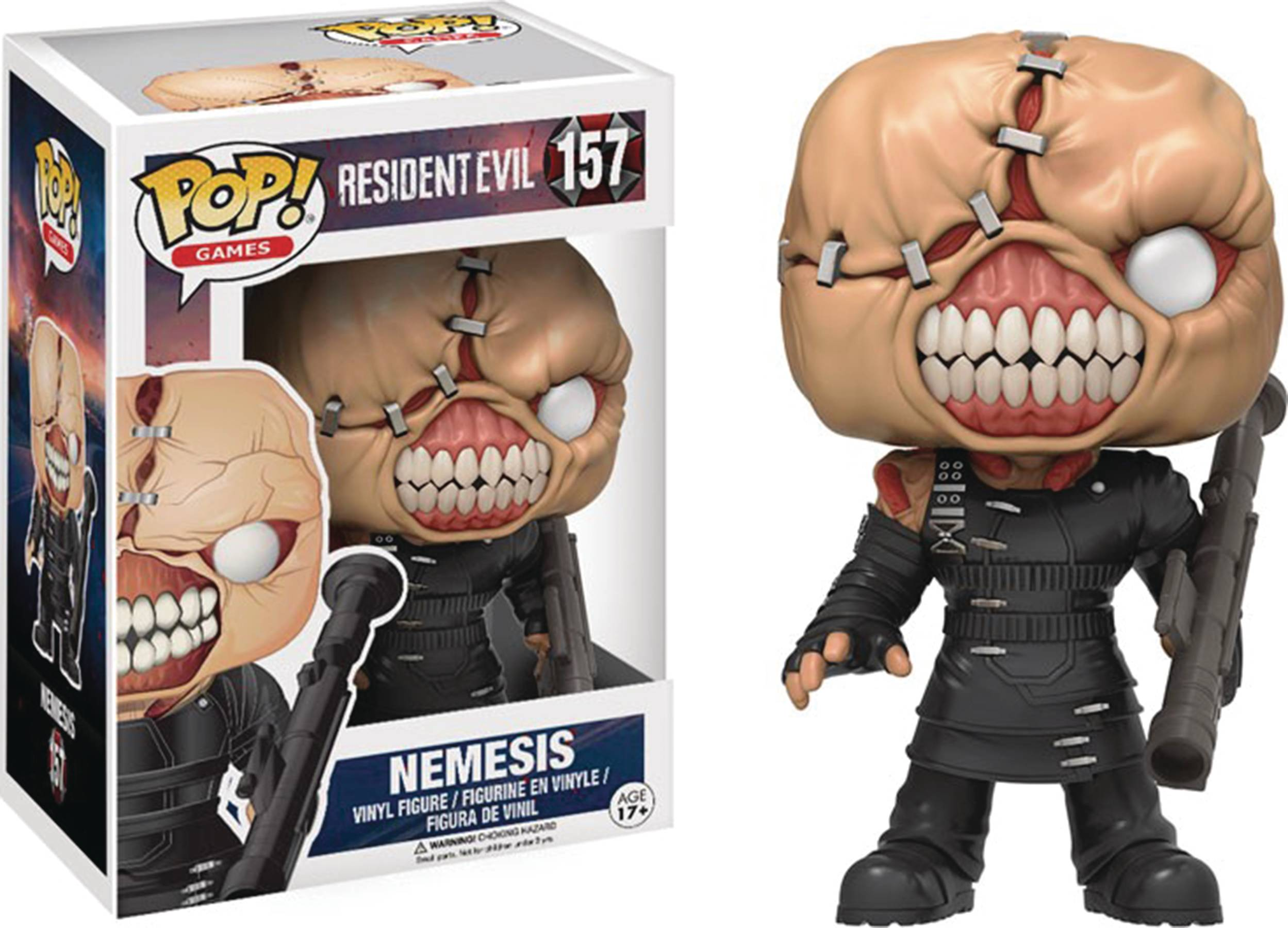 POP RESIDENT EVIL NEMESIS VINYL FIG