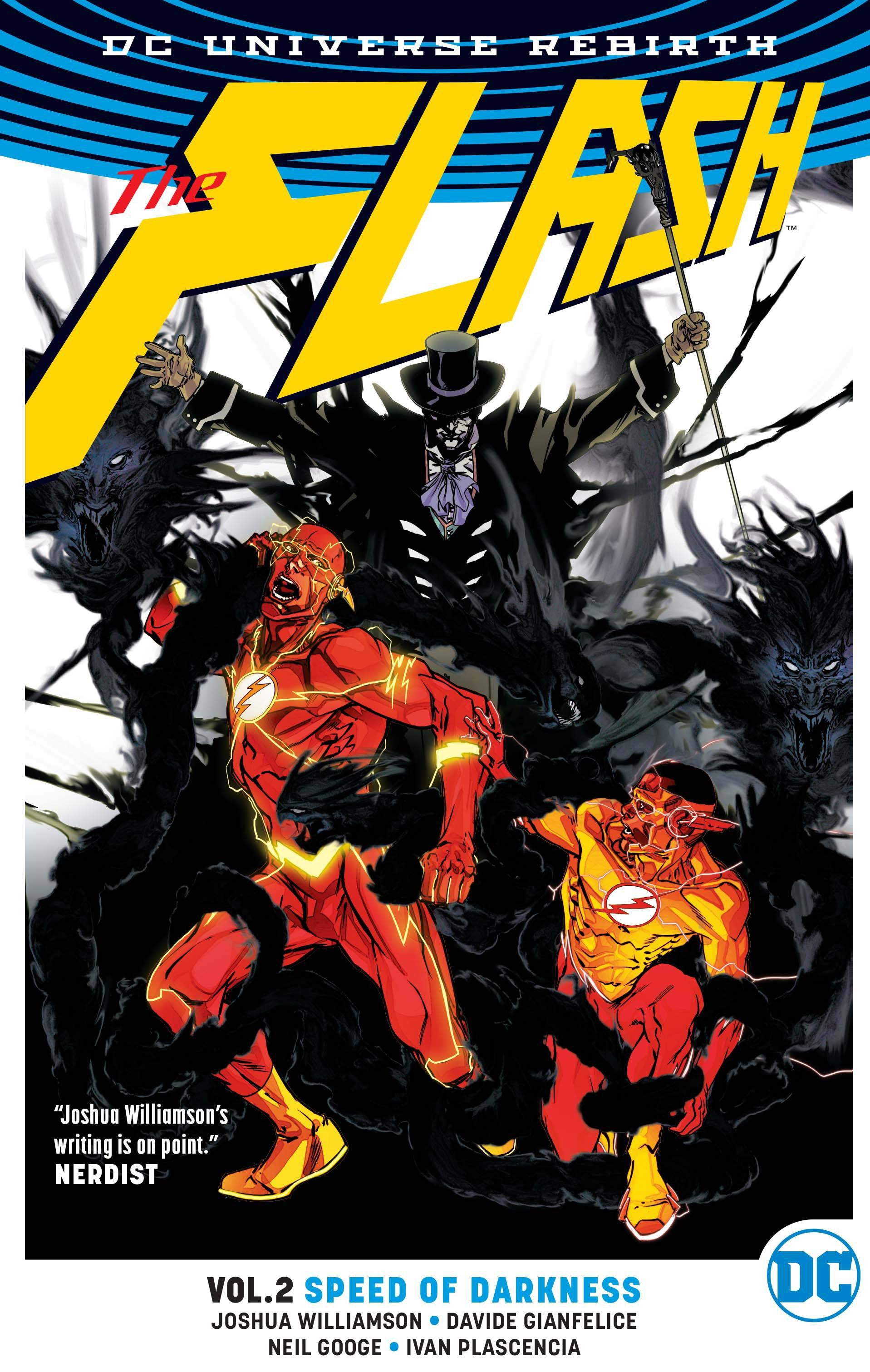 FLASH TP VOL 02 SPEED OF DARKNESS