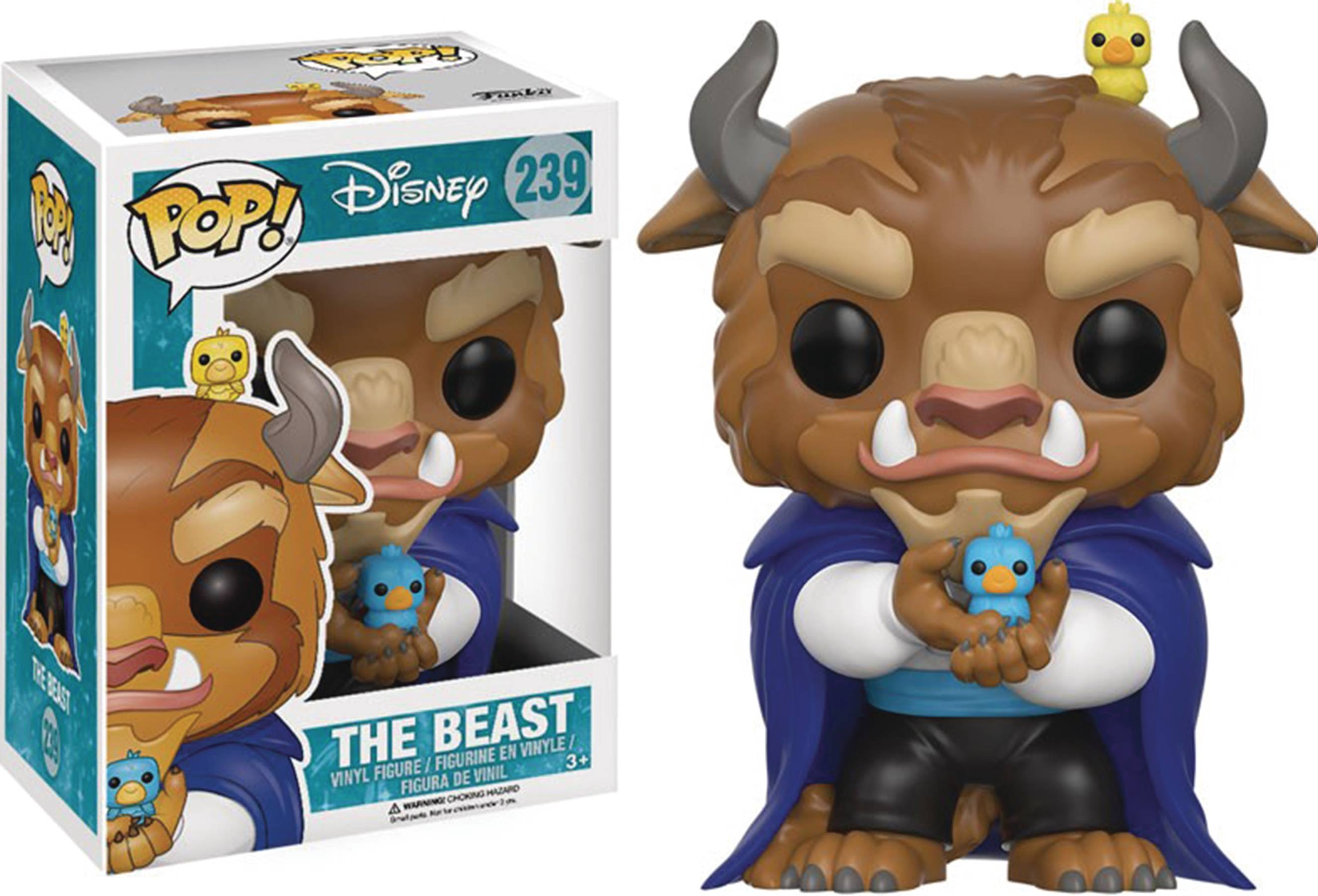 POP DISNEY BEAUTY & THE BEAST WINTER BEAST FIG