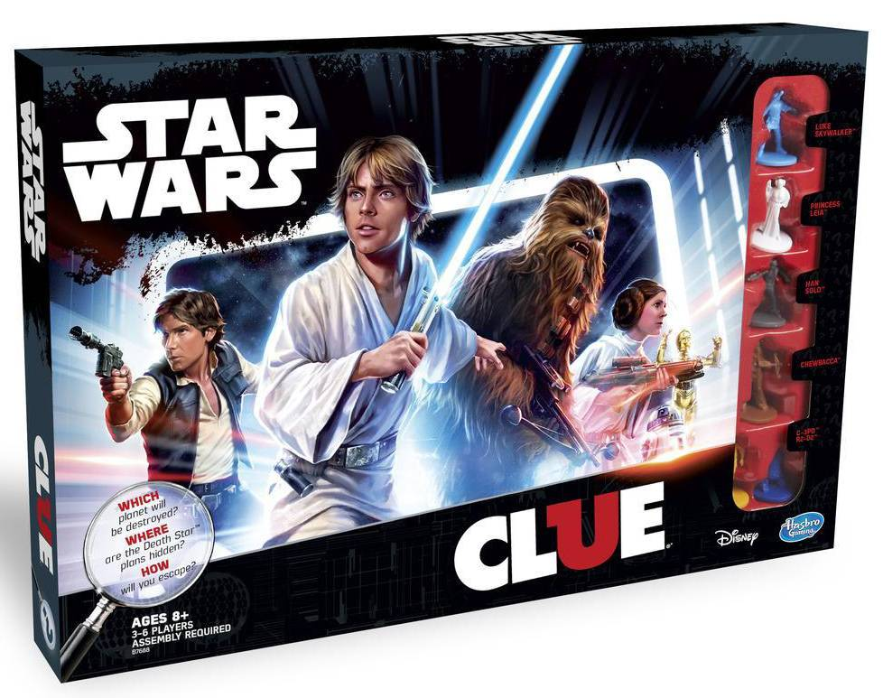 CLUE STAR WARS CLUE GAME CS