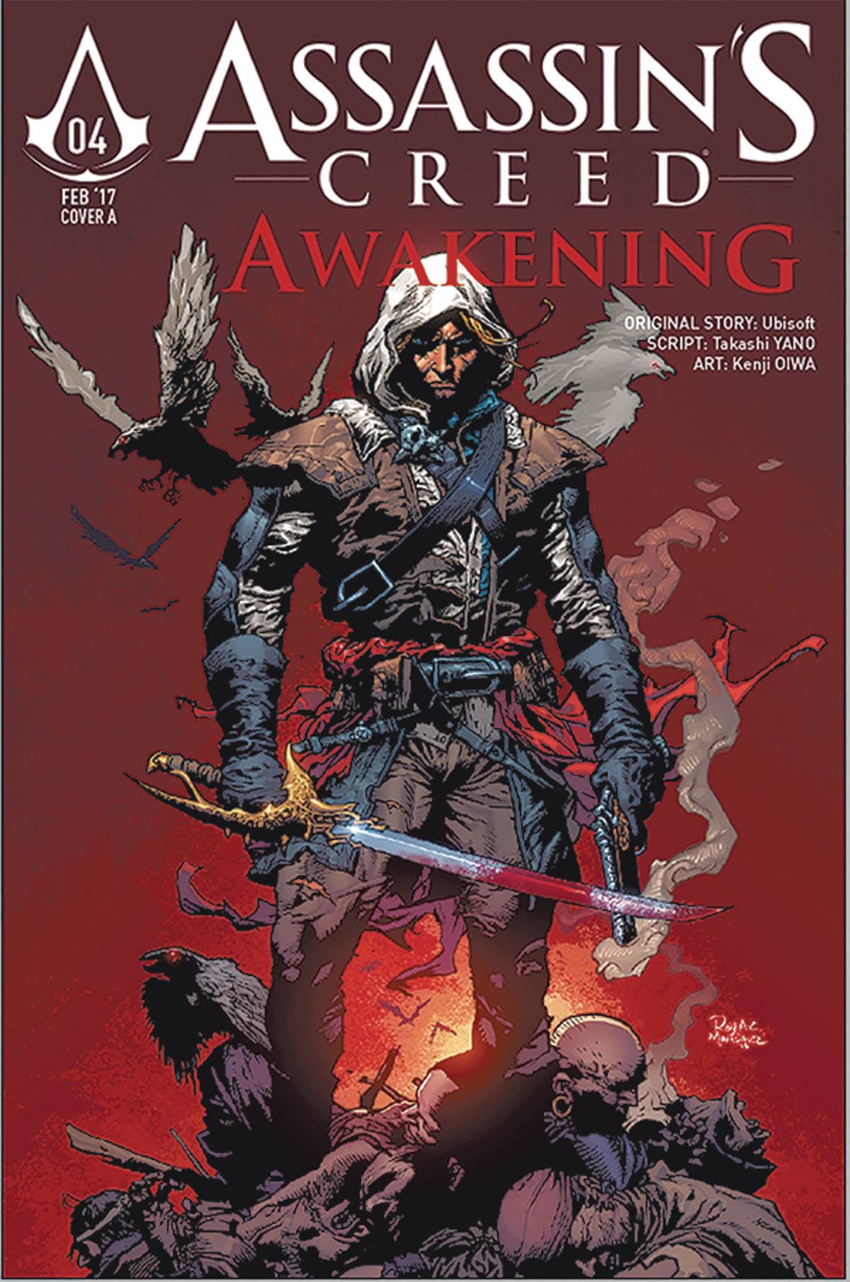 ASSASSINS CREED AWAKENING #5 (OF 6) CVR B MARTINEZ