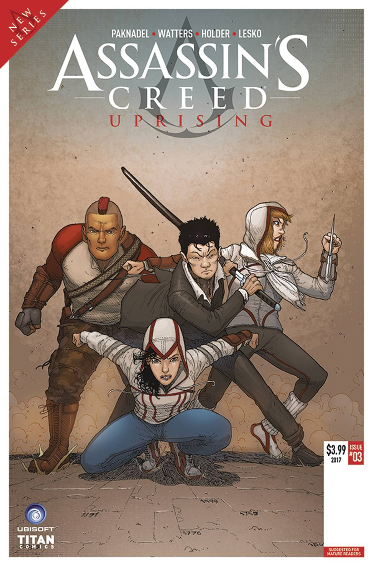 ASSASSINS CREED UPRISING #3 CVR A ARAUJO