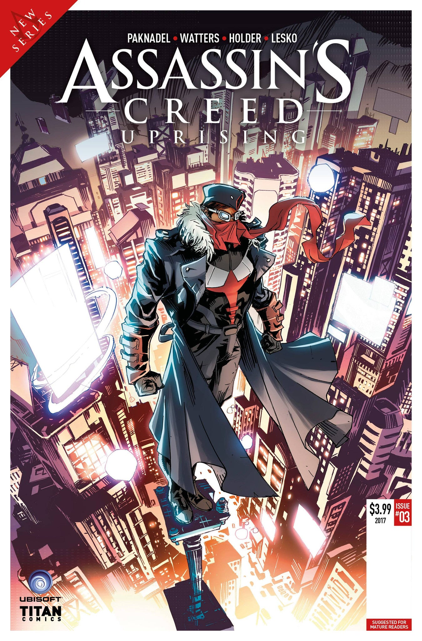 ASSASSINS CREED UPRISING #3 CVR B HOLDER
