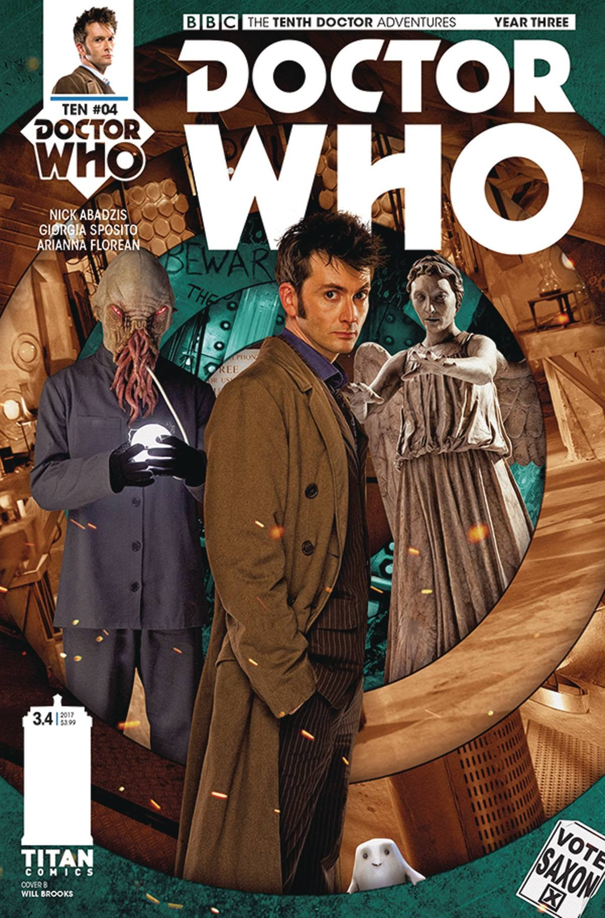DOCTOR WHO 10TH YEAR THREE #4 CVR B PHOTO