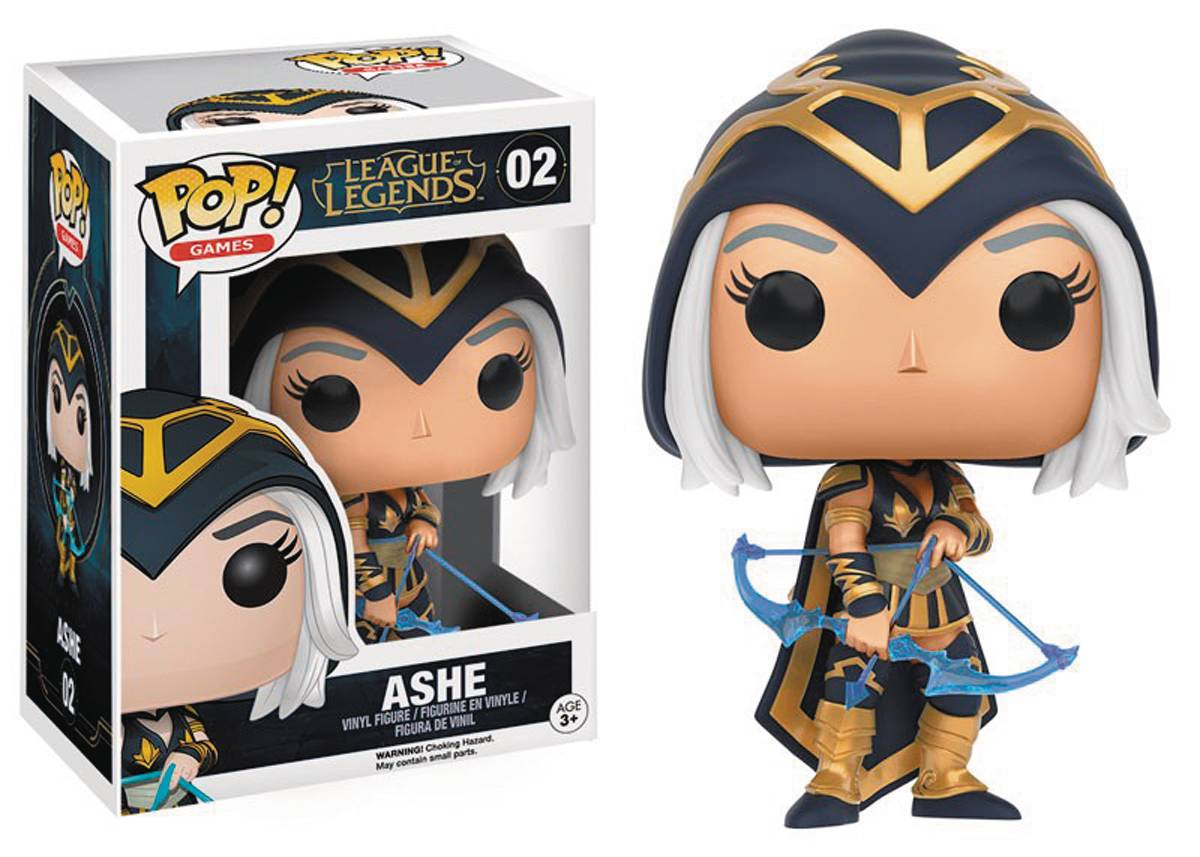 POP LEAGUE OF LEGENDS ASHE VINYL FIG