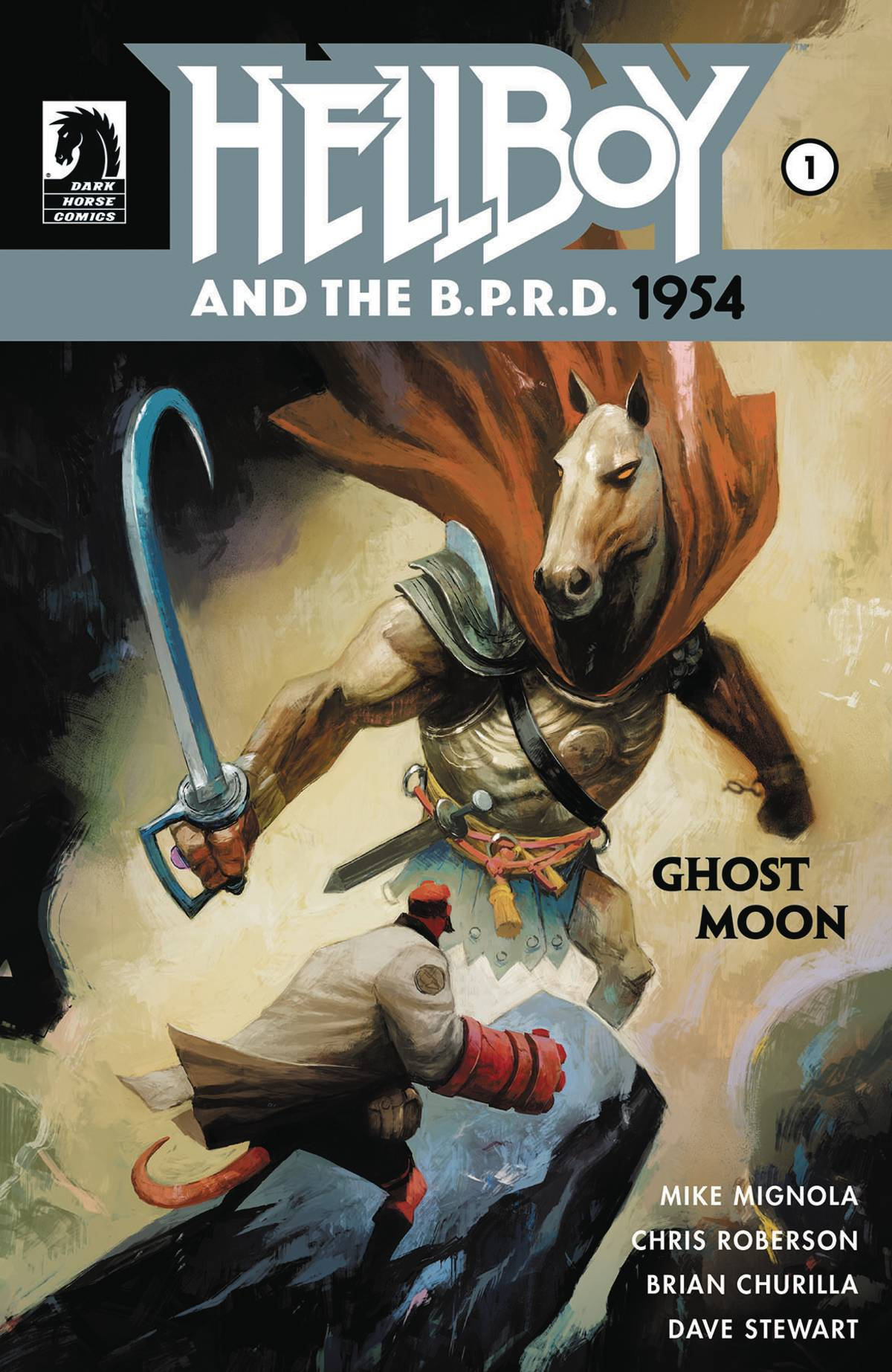 HELLBOY AND BPRD 1954 GHOST MOON #1