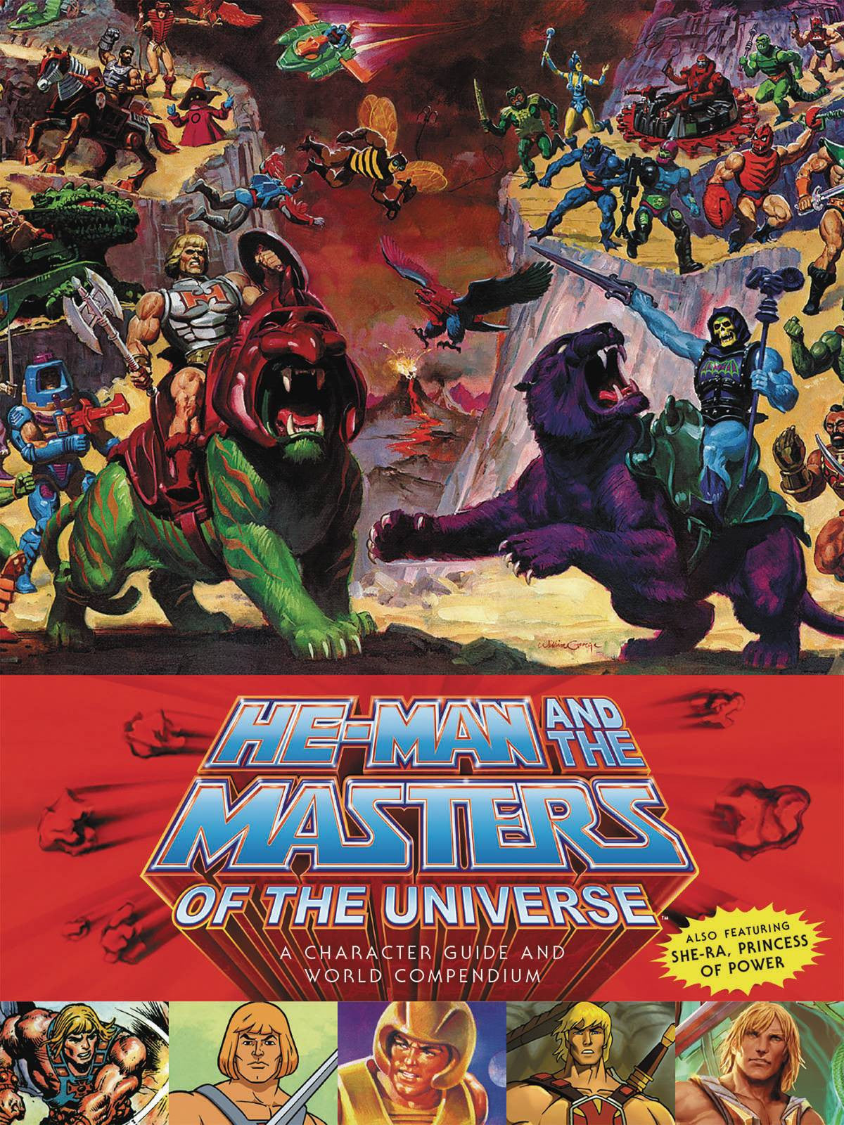 HE-MAN MASTERS UNIVERSE HC CHARACTER GUIDE WORLD