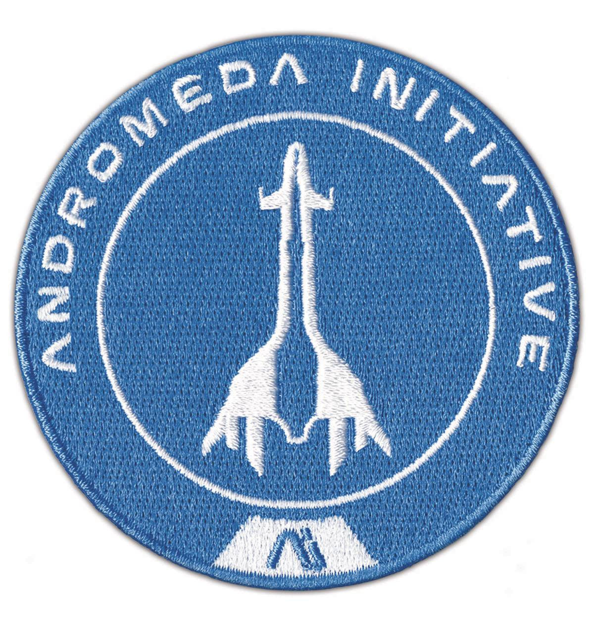 MASS EFFECT ANDROMEDA TEMPEST EMBROIDERED PATCH