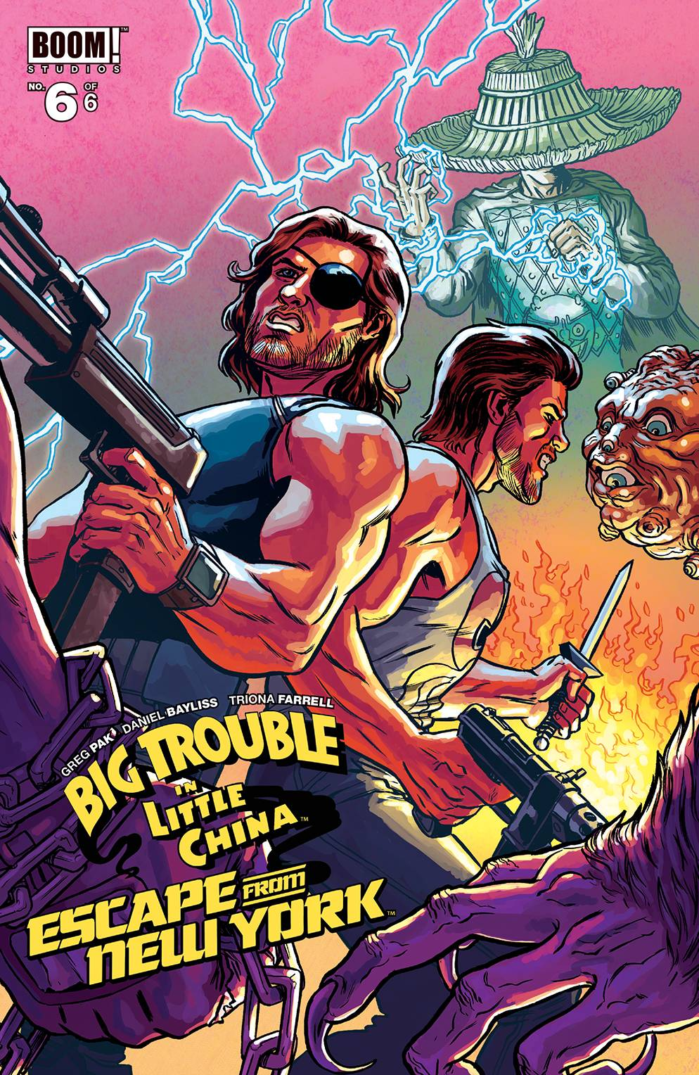 BIG TROUBLE LITTLE CHINA ESCAPE NEW YORK #6 SUBSCRIPTION BRO