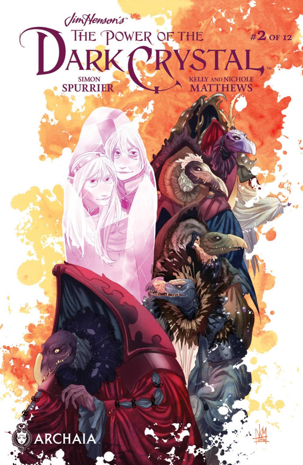 JIM HENSON POWER OF DARK CRYSTAL #2