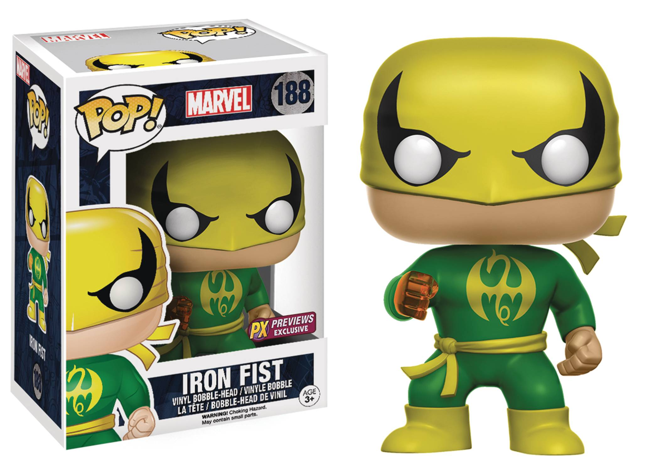 POP MARVEL IRON FIST PX VIN FIG