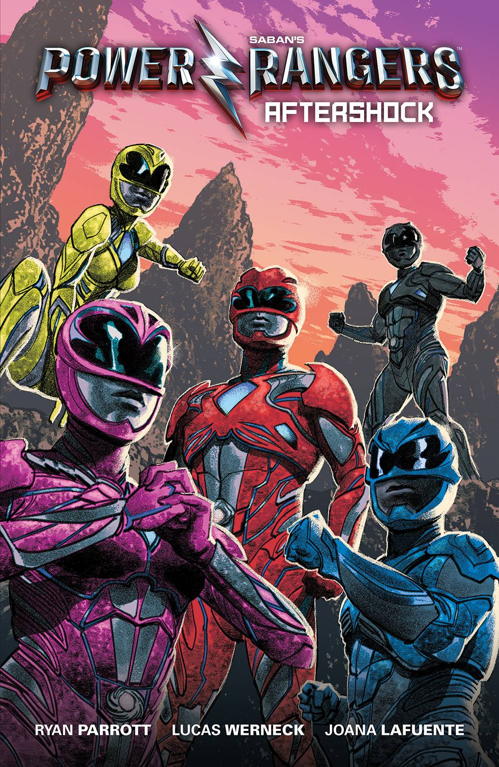 SABAN POWER RANGERS AFTERSHOCK MOVIE GN PREVIEWS EXC CVR
