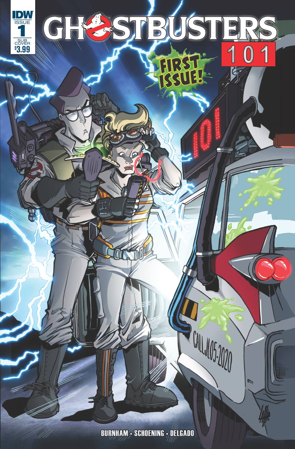 GHOSTBUSTERS 101 #1 SUBSCRIPTION VAR A