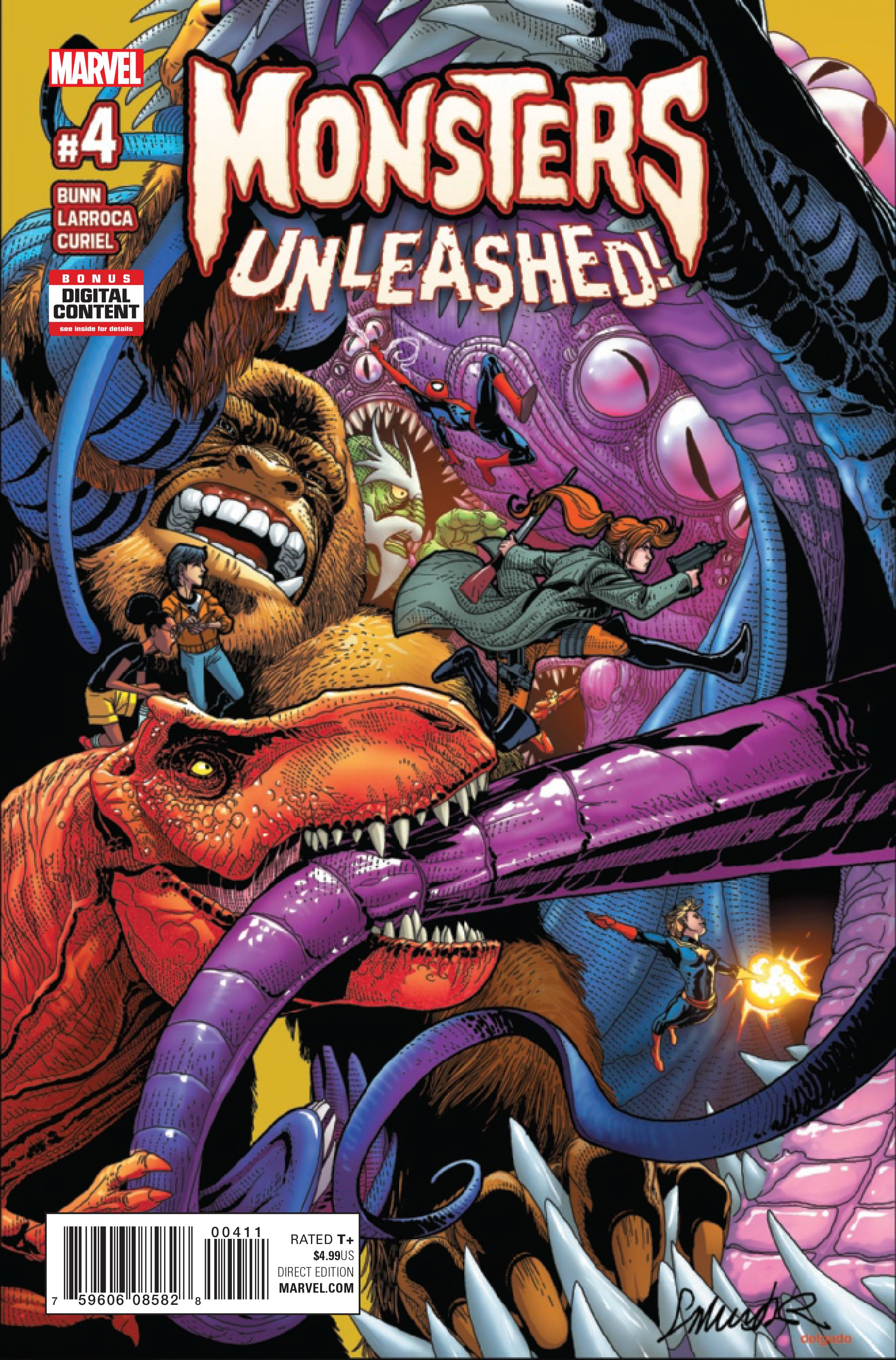 MONSTERS UNLEASHED #4