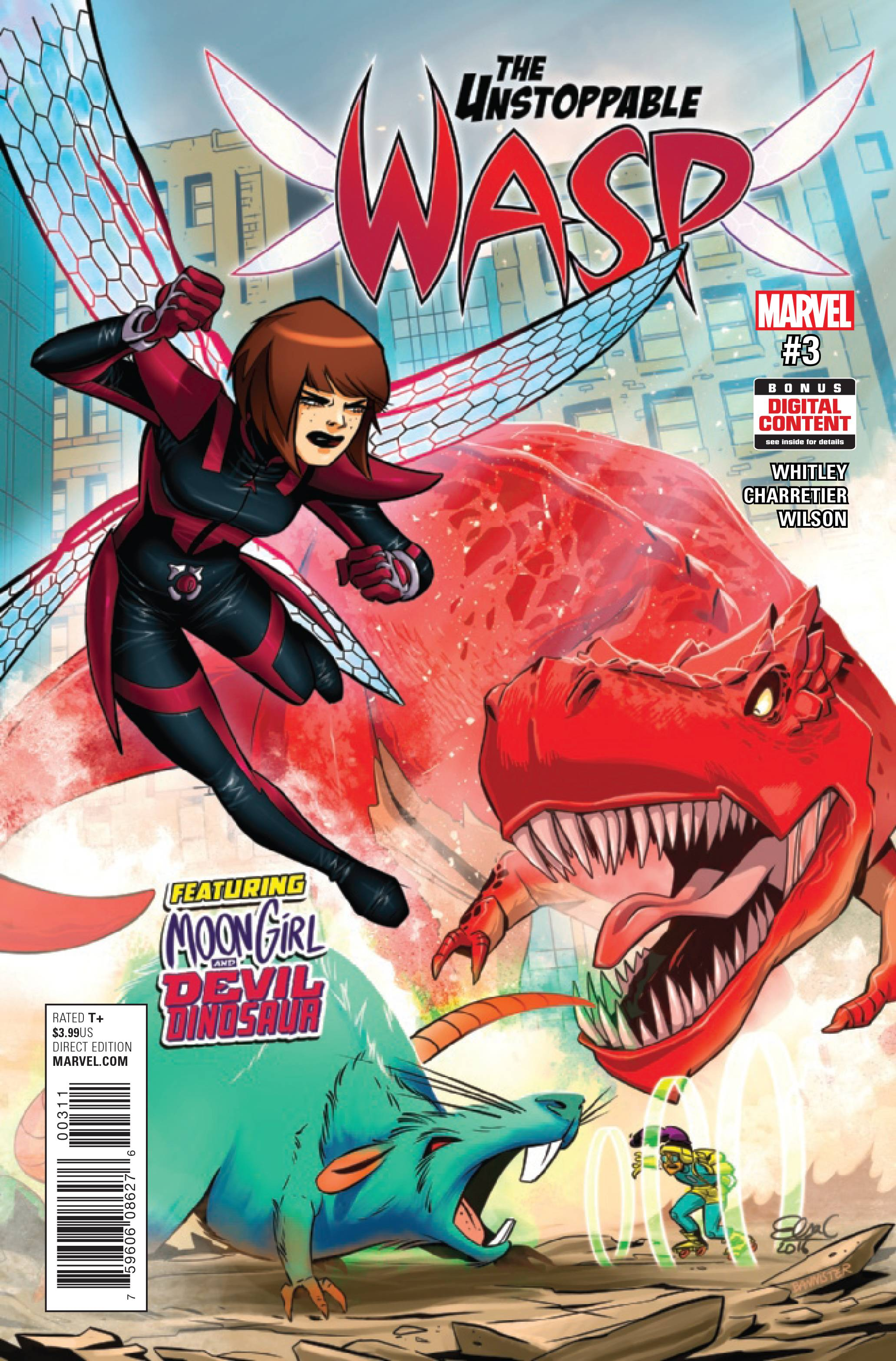 UNSTOPPABLE WASP #3
