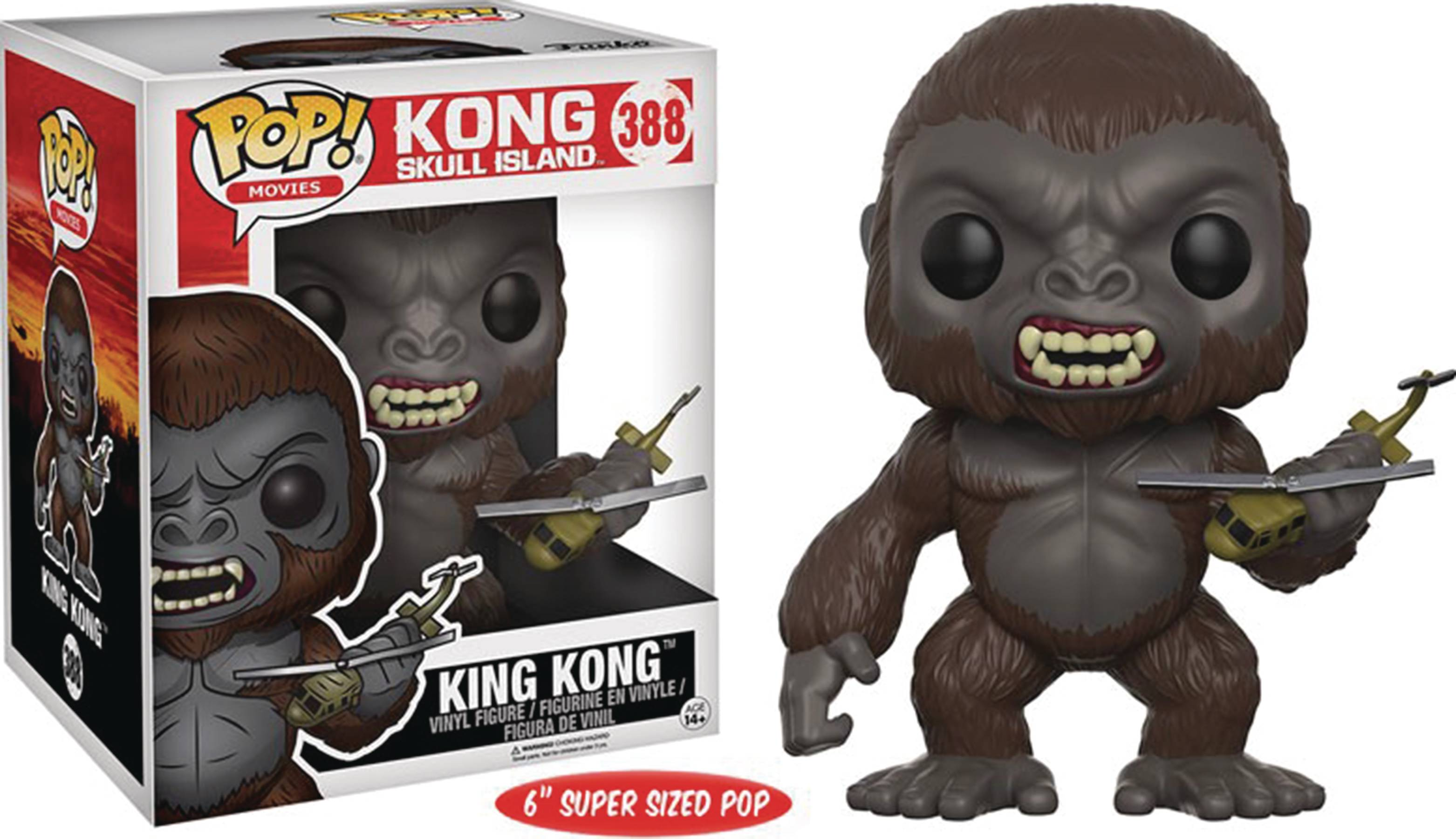 POP KING KONG 2017 KING KONG 6IN VINYL FIG