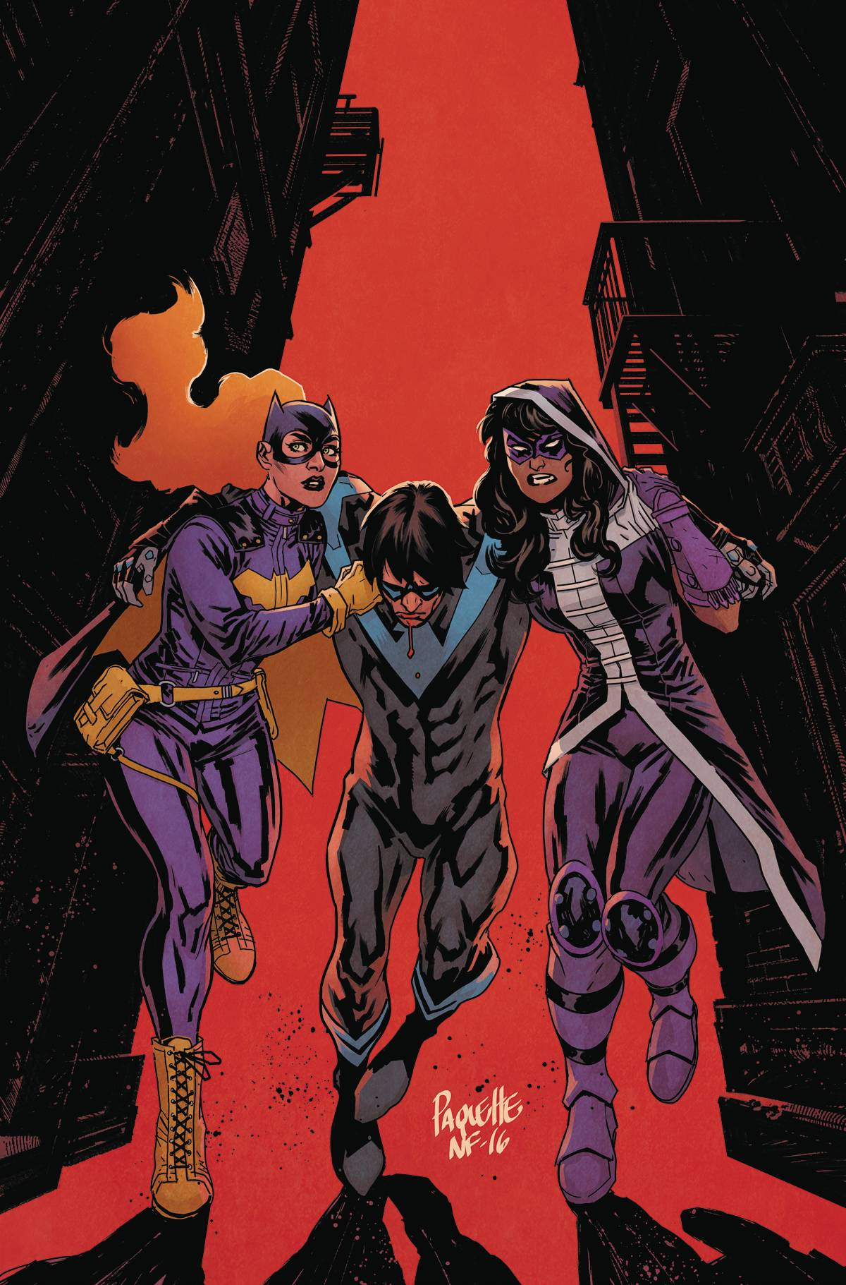 BATGIRL AND THE BIRDS OF PREY #8