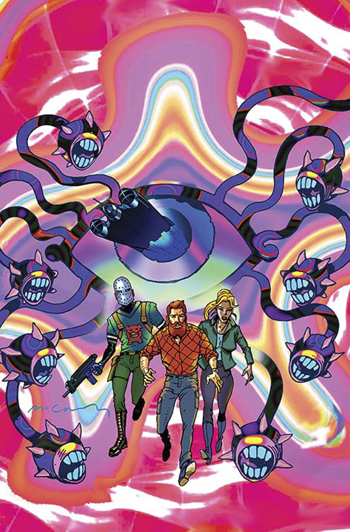 CAVE CARSON HAS A CYBERNETIC EYE #6 VAR ED