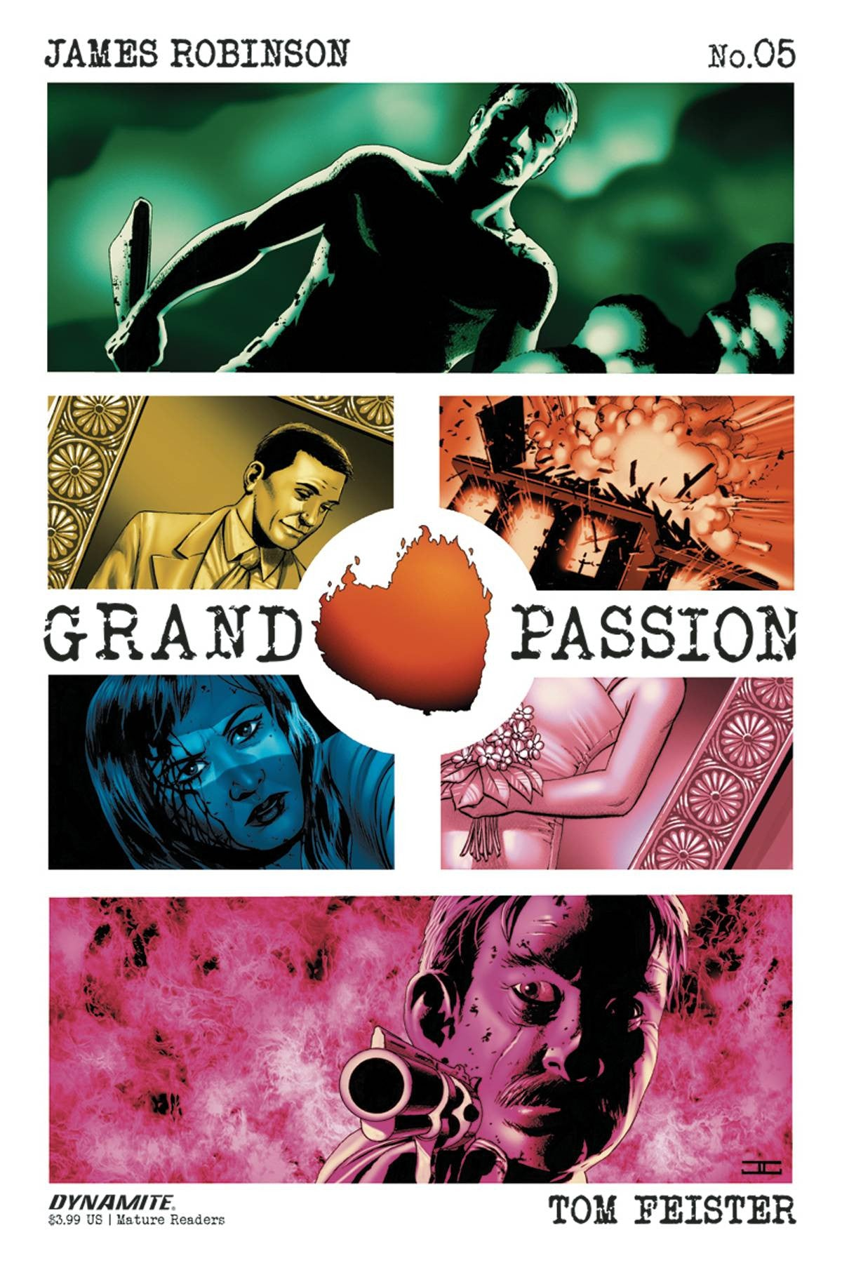 GRAND PASSION #5 (OF 5) CVR A CASSADAY