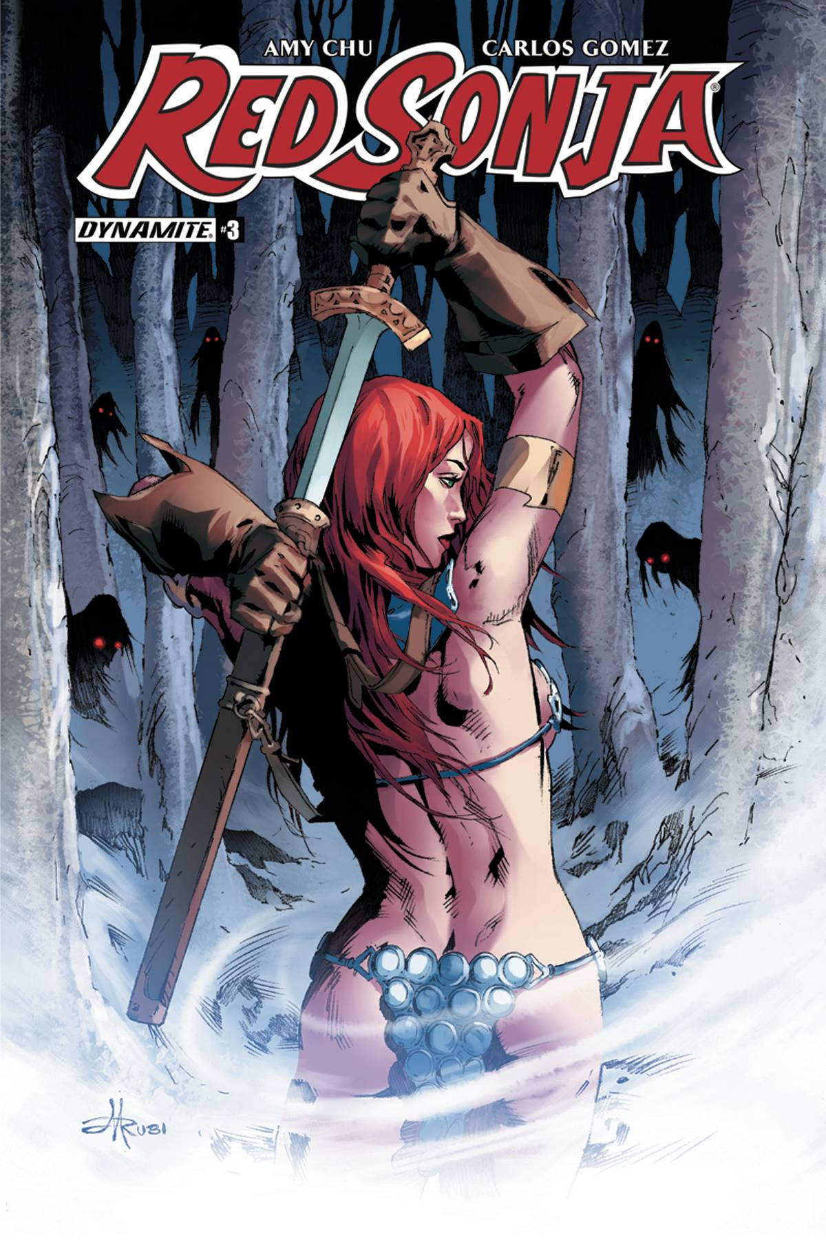 RED SONJA #3 CVR E RUBI EXC SUBSCRIPTION VAR
