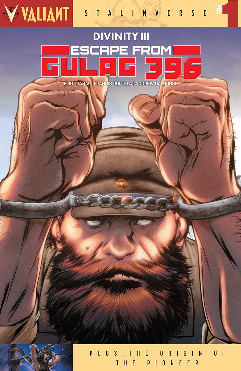DIVINITY III ESCAPE FROM GULAG 396 #1 CVR B EVANS