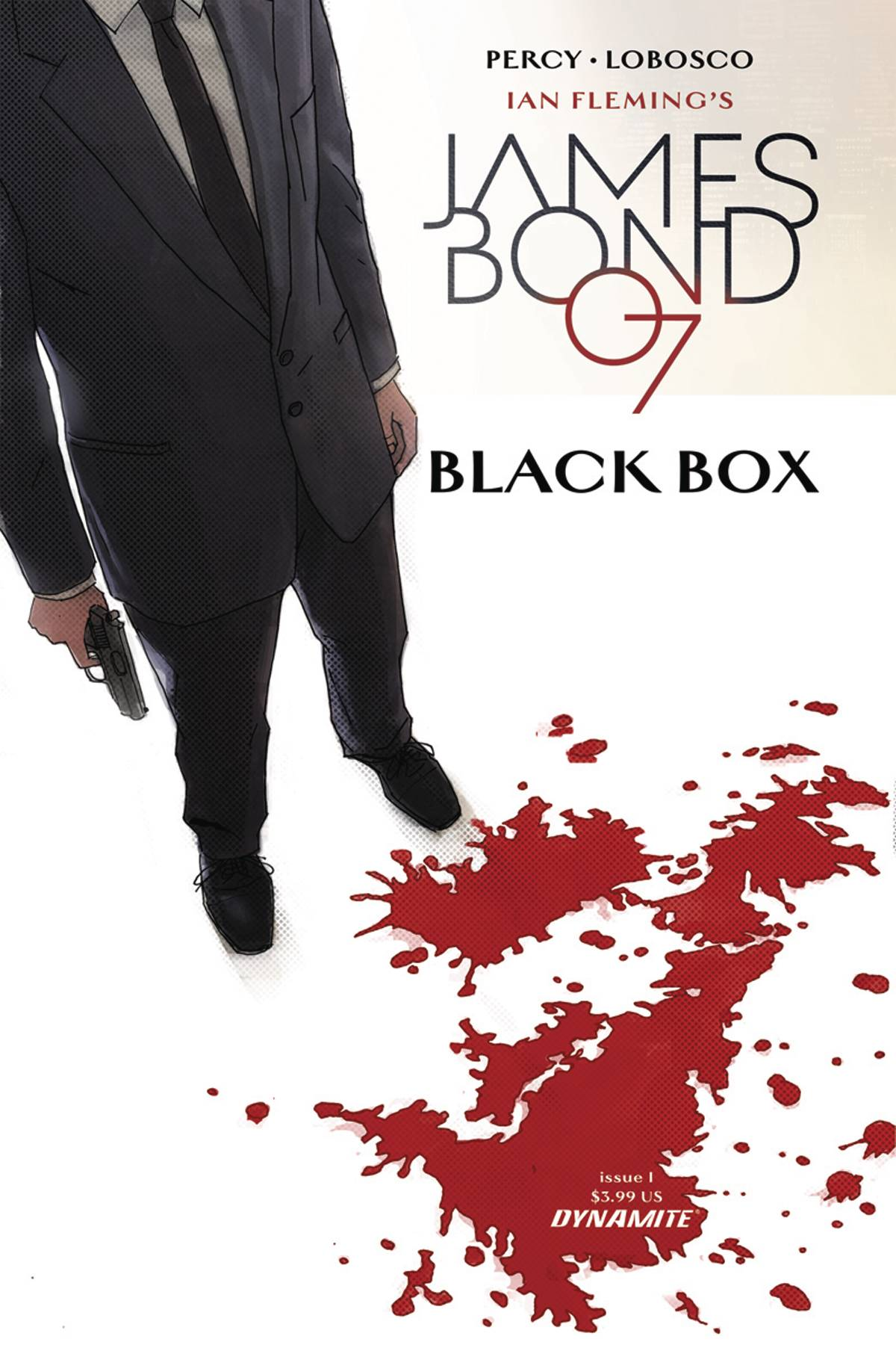 JAMES BOND #1 CVR B REARDON