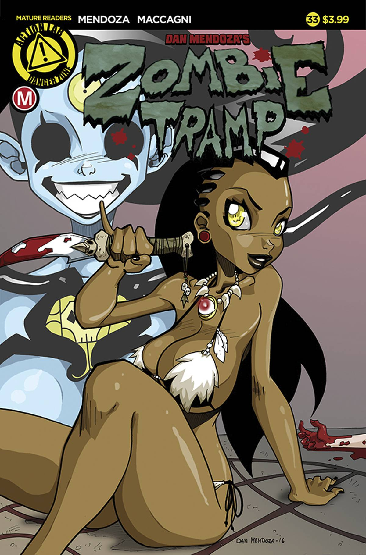 ZOMBIE TRAMP ONGOING #33 CVR A MENDOZA