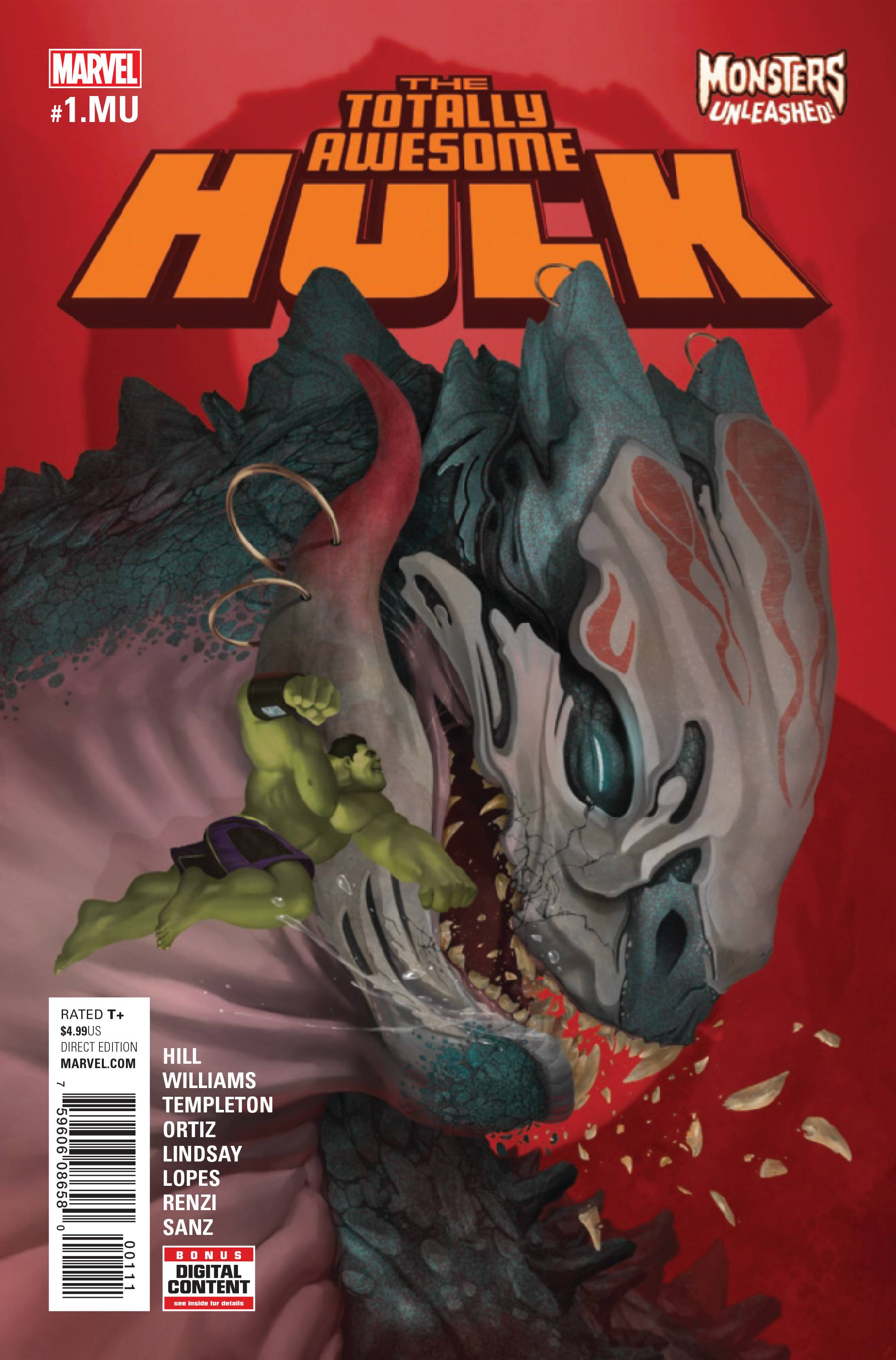 TOTALLY AWESOME HULK #1.MU