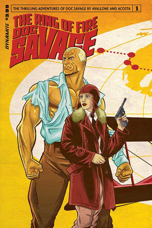 DOC SAVAGE RING OF FIRE #1
