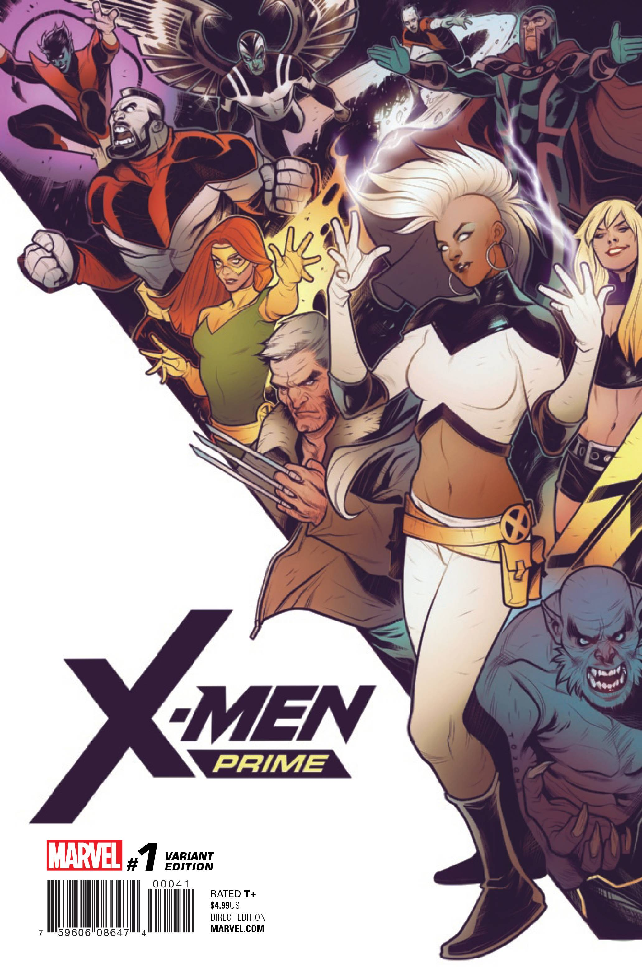 X-MEN PRIME #1 TORQUE CONNECTING VAR