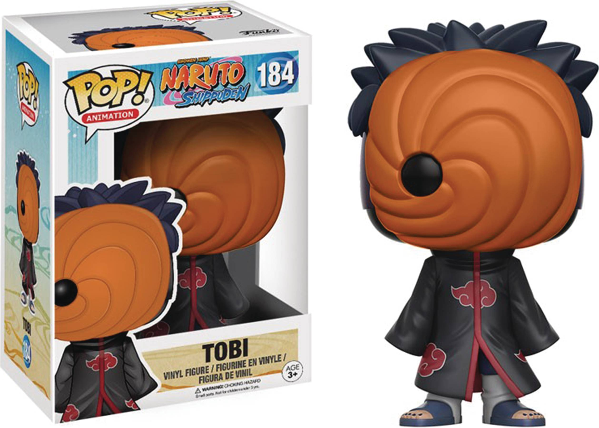 POP NARUTO SHIPPUDEN TOBI VINYL FIG