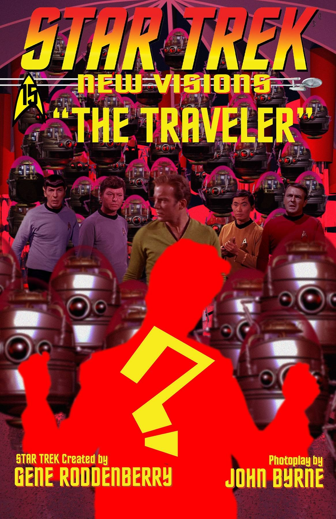 STAR TREK NEW VISIONS THE TRAVELER