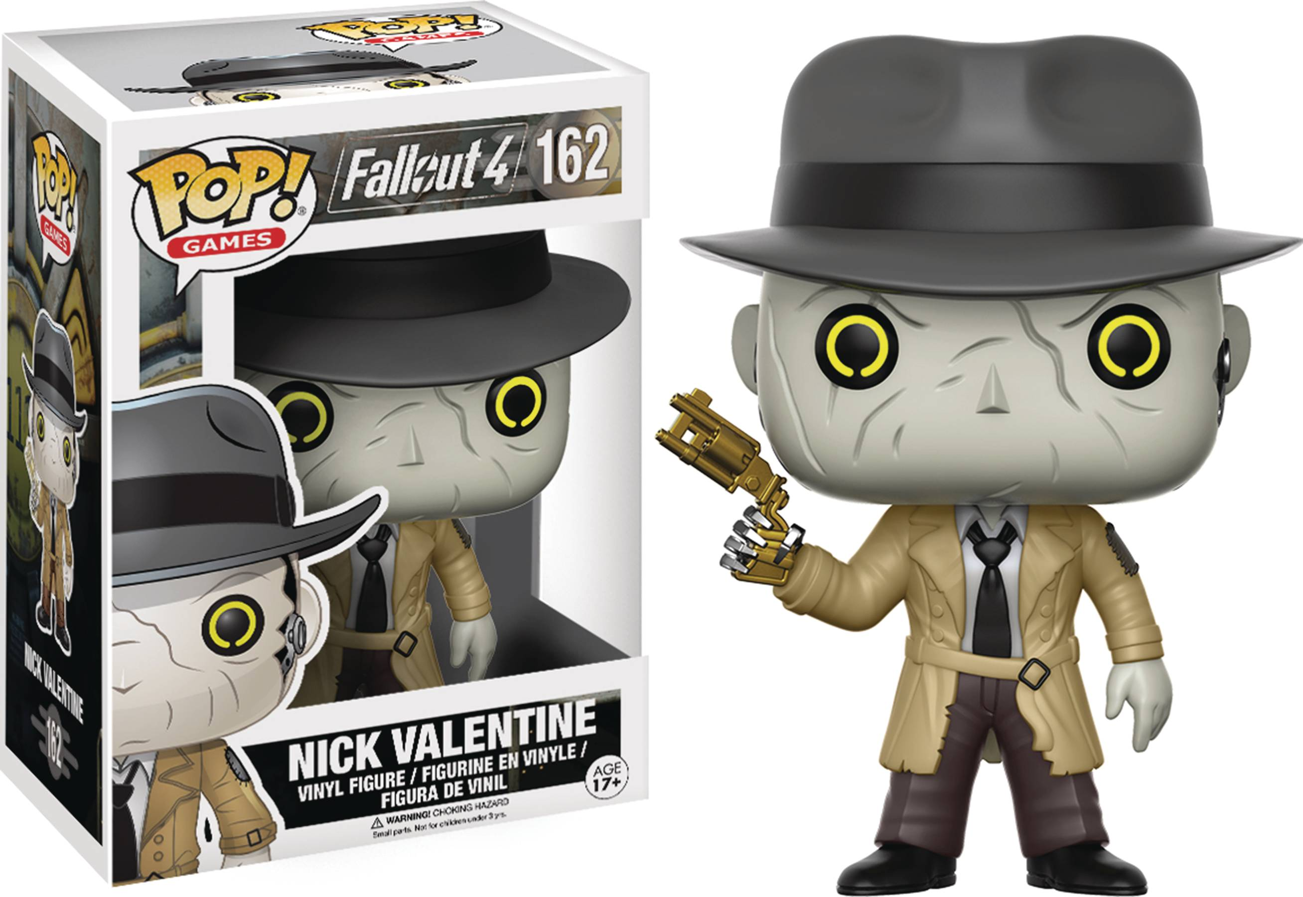 POP FALLOUT NICK VALENTINE VINYL FIG