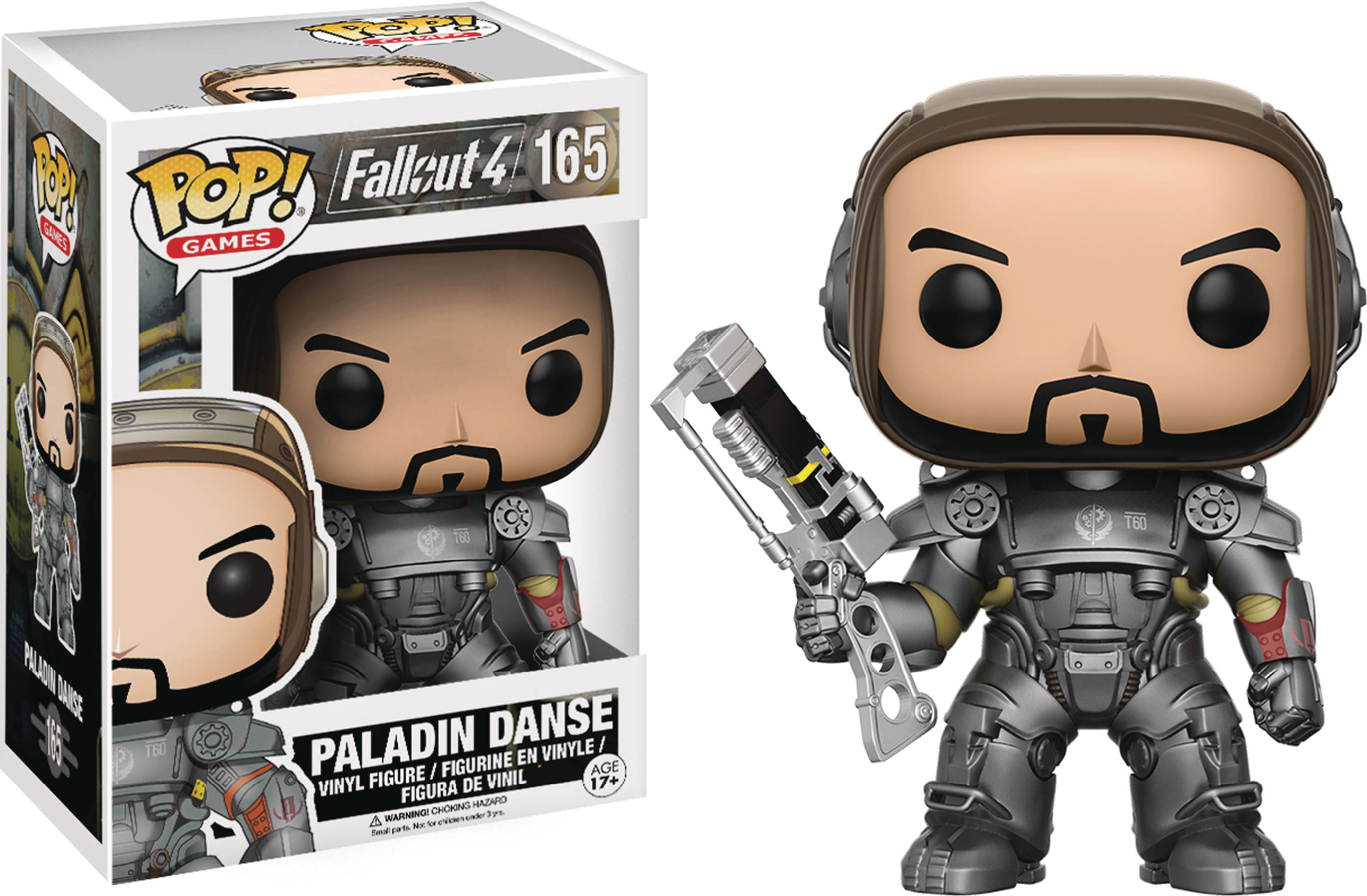 POP FALLOUT PALADIN DANSE VINYL FIG