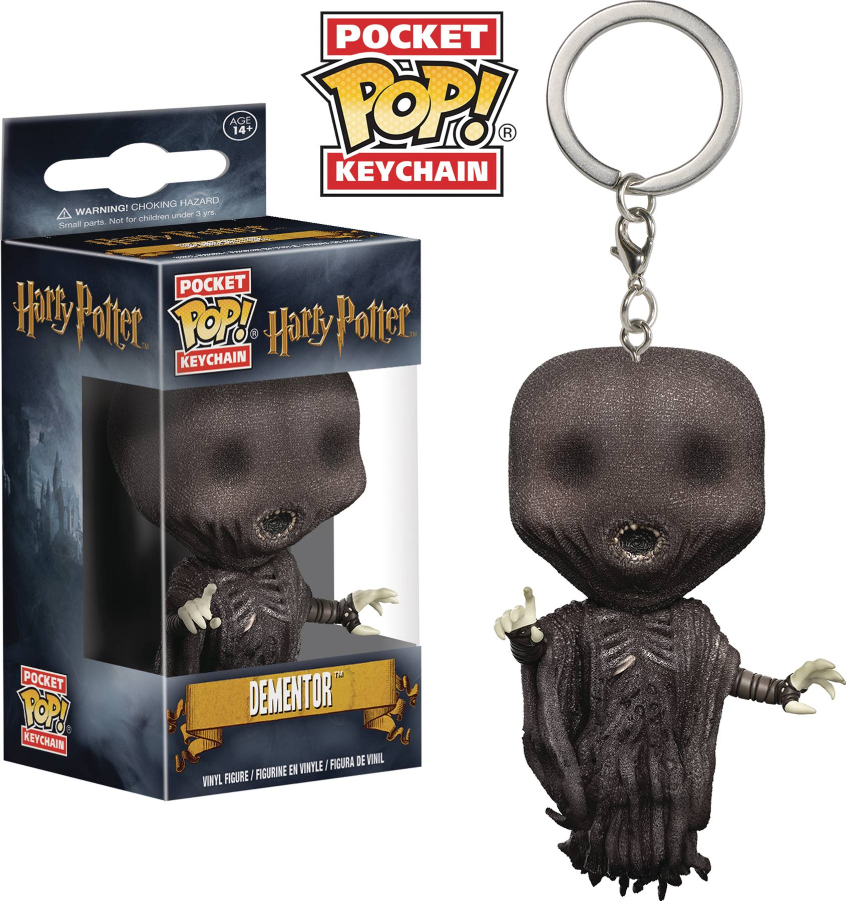 POCKET POP HARRY POTTER DEMENTOR FIG KEYCHAIN