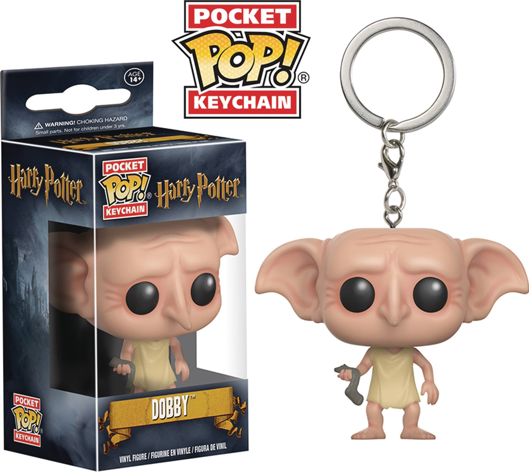 POCKET POP HARRY POTTER DOBBY FIG KEYCHAIN
