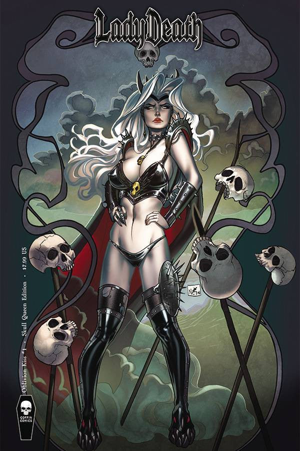 LADY DEATH OBLIVION KISS #1 SKULL QUEEN CVR