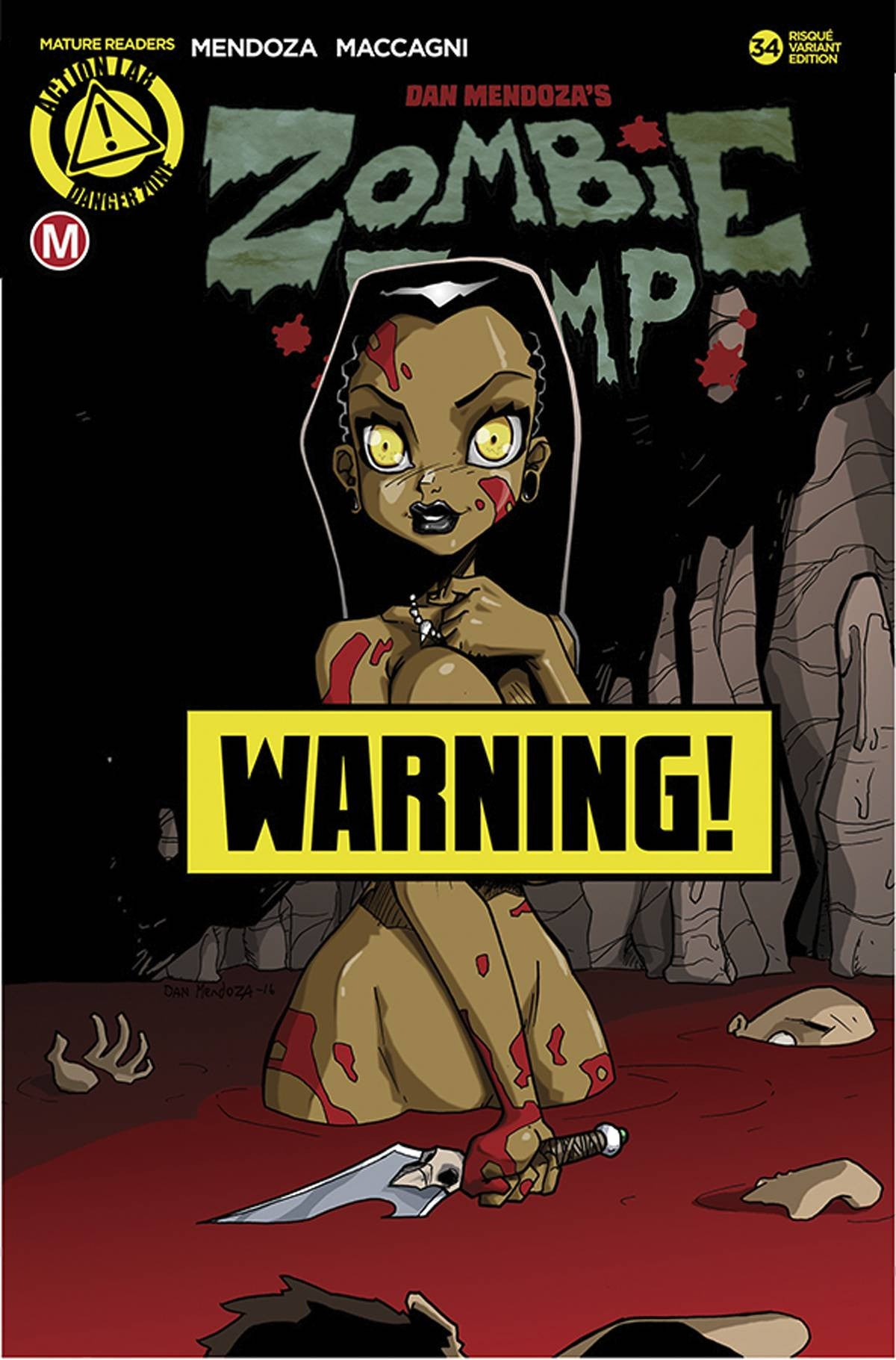 ZOMBIE TRAMP ONGOING #34 CVR B MENDOZA RISQUE