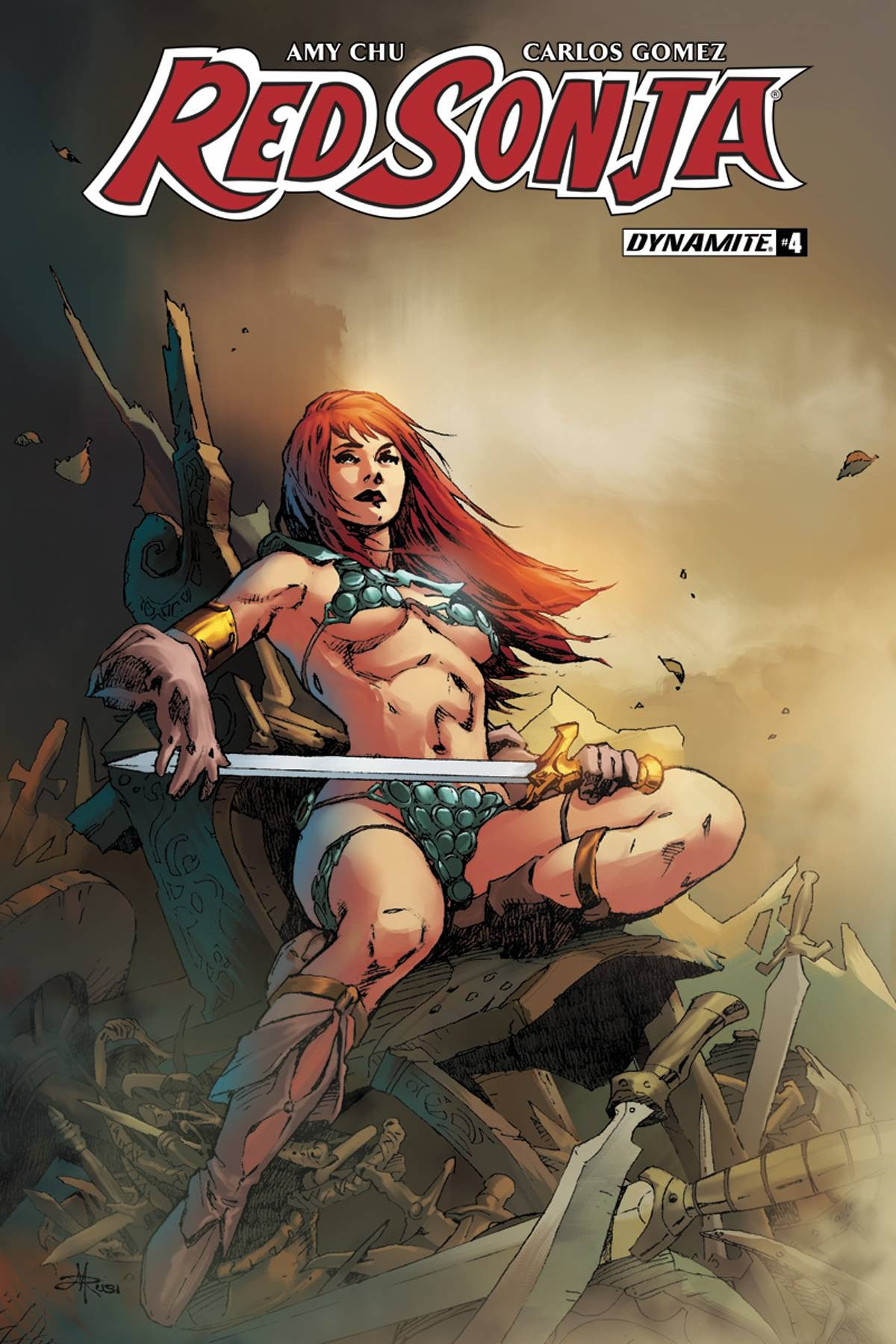 RED SONJA #4 CVR E RUBI EXC SUBSCRIPTION VAR