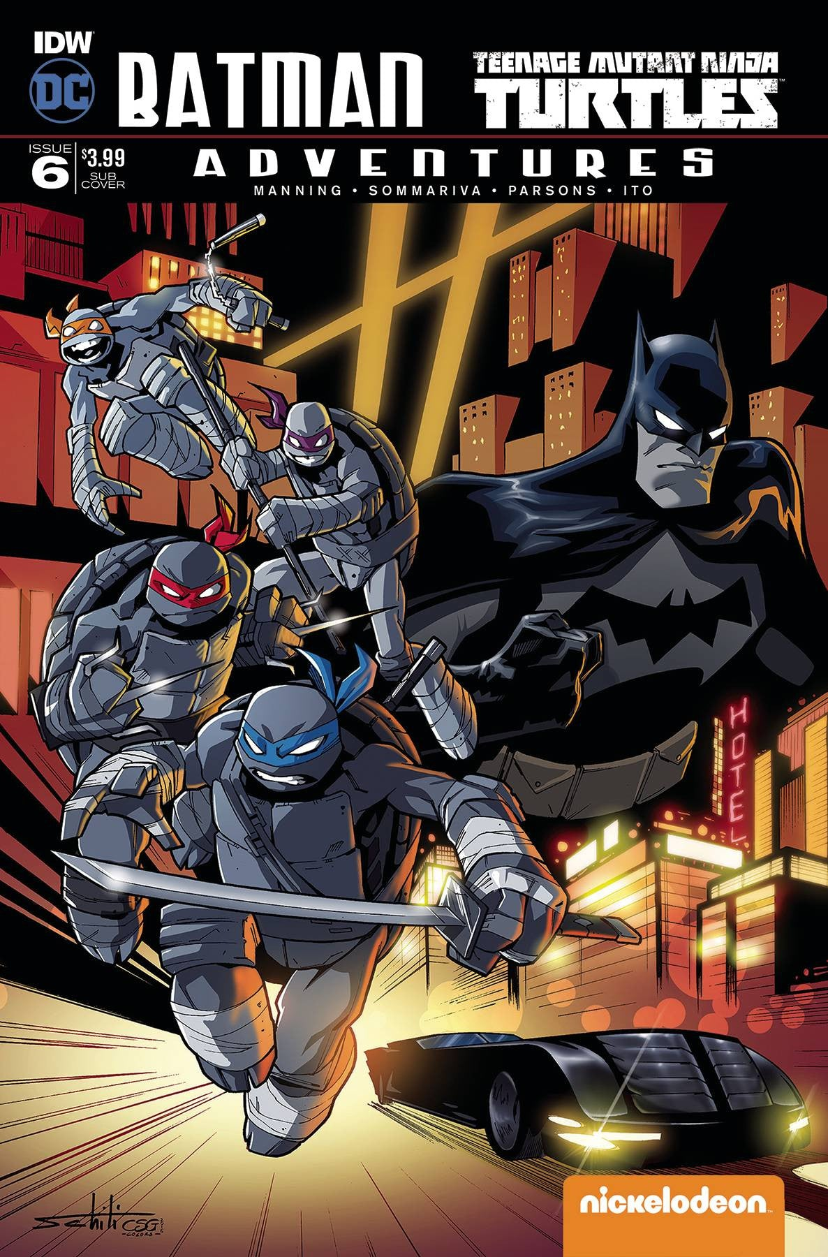 BATMAN TMNT ADVENTURES #6