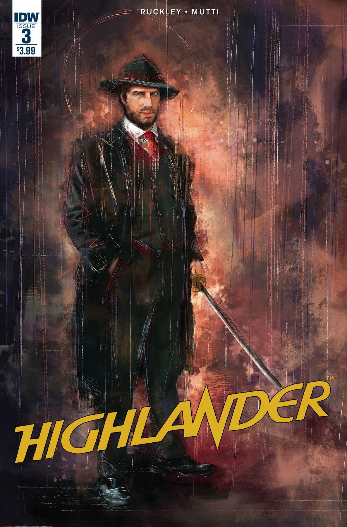 HIGHLANDER AMERICAN DREAM #3 SUBSCRIPTION VAR
