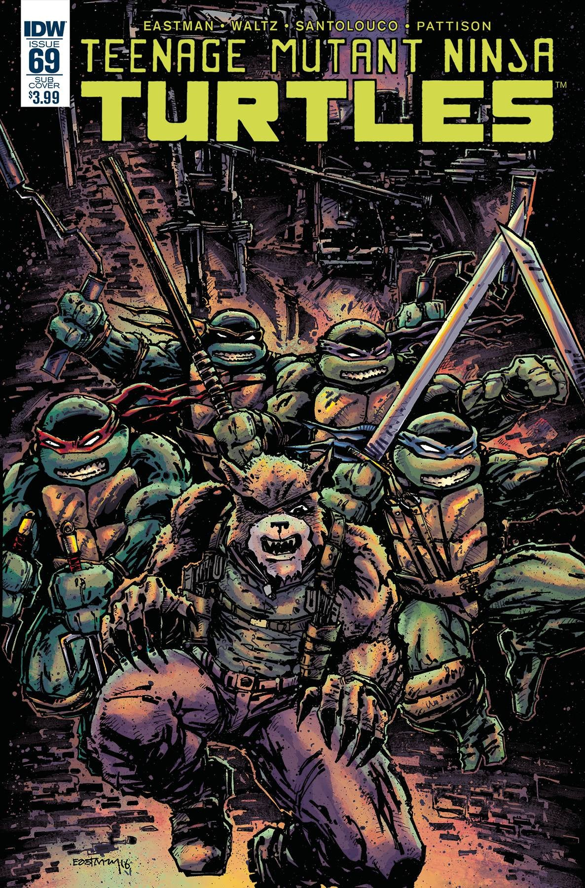 TMNT ONGOING #69 SUBSCRIPTION VAR