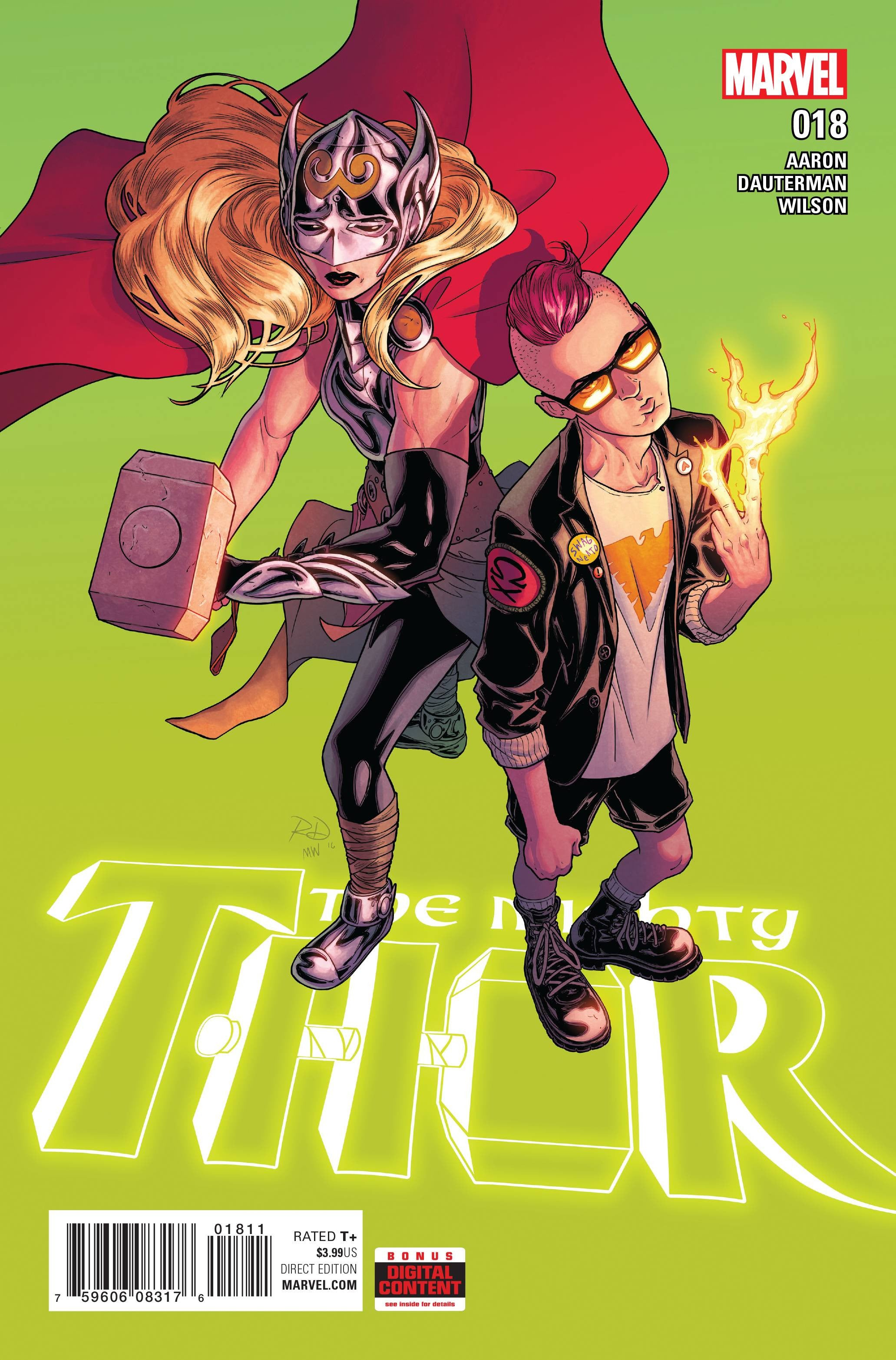MIGHTY THOR #18