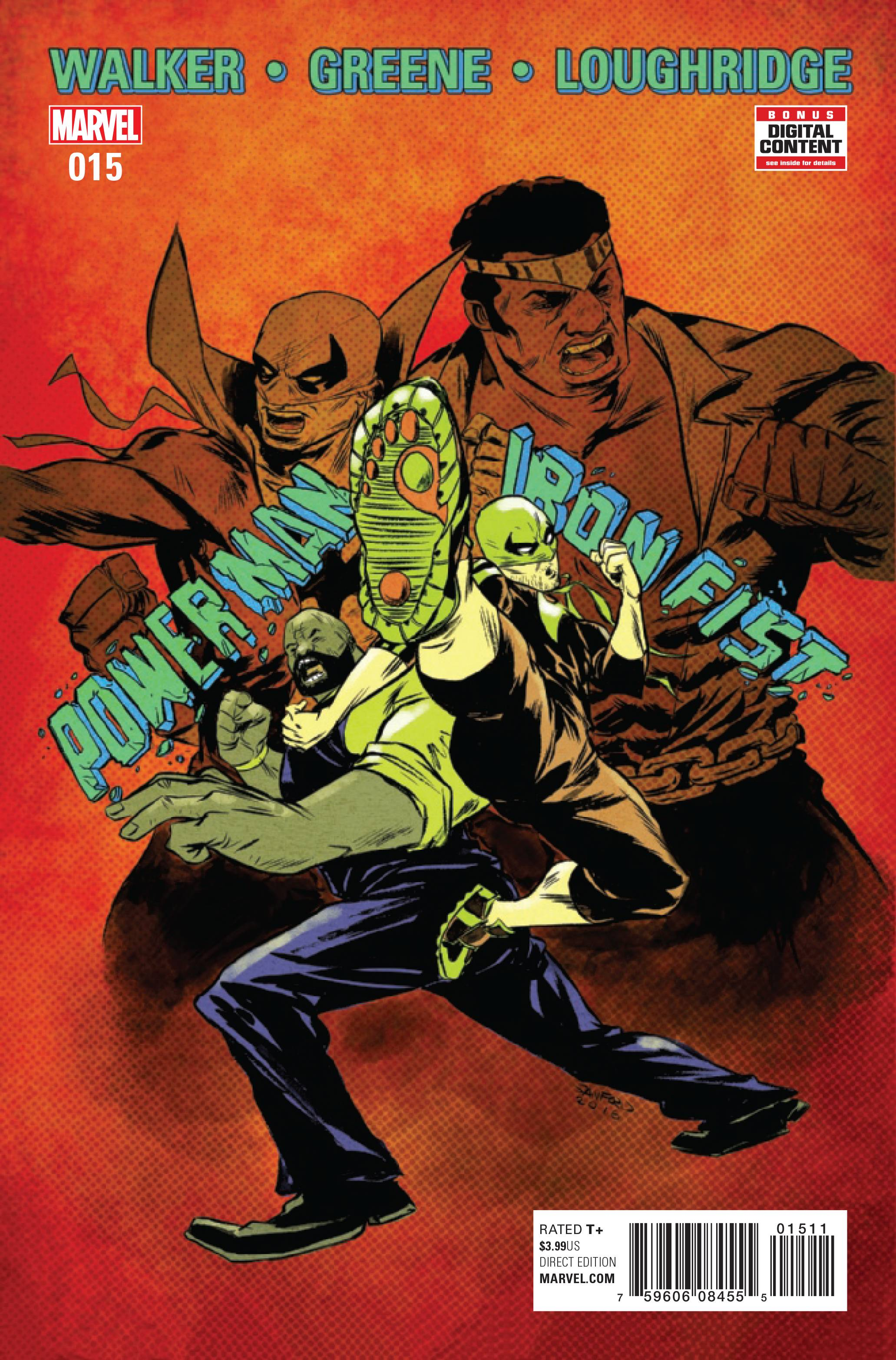 POWER MAN AND IRON FIST #15