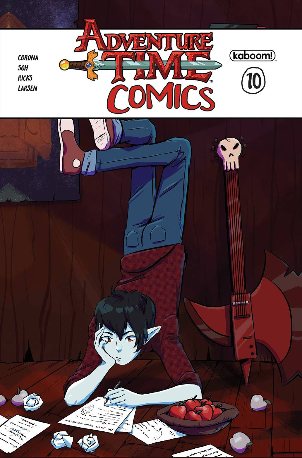 ADVENTURE TIME COMICS #10 SUBSCRIPTION PERDUE CVR